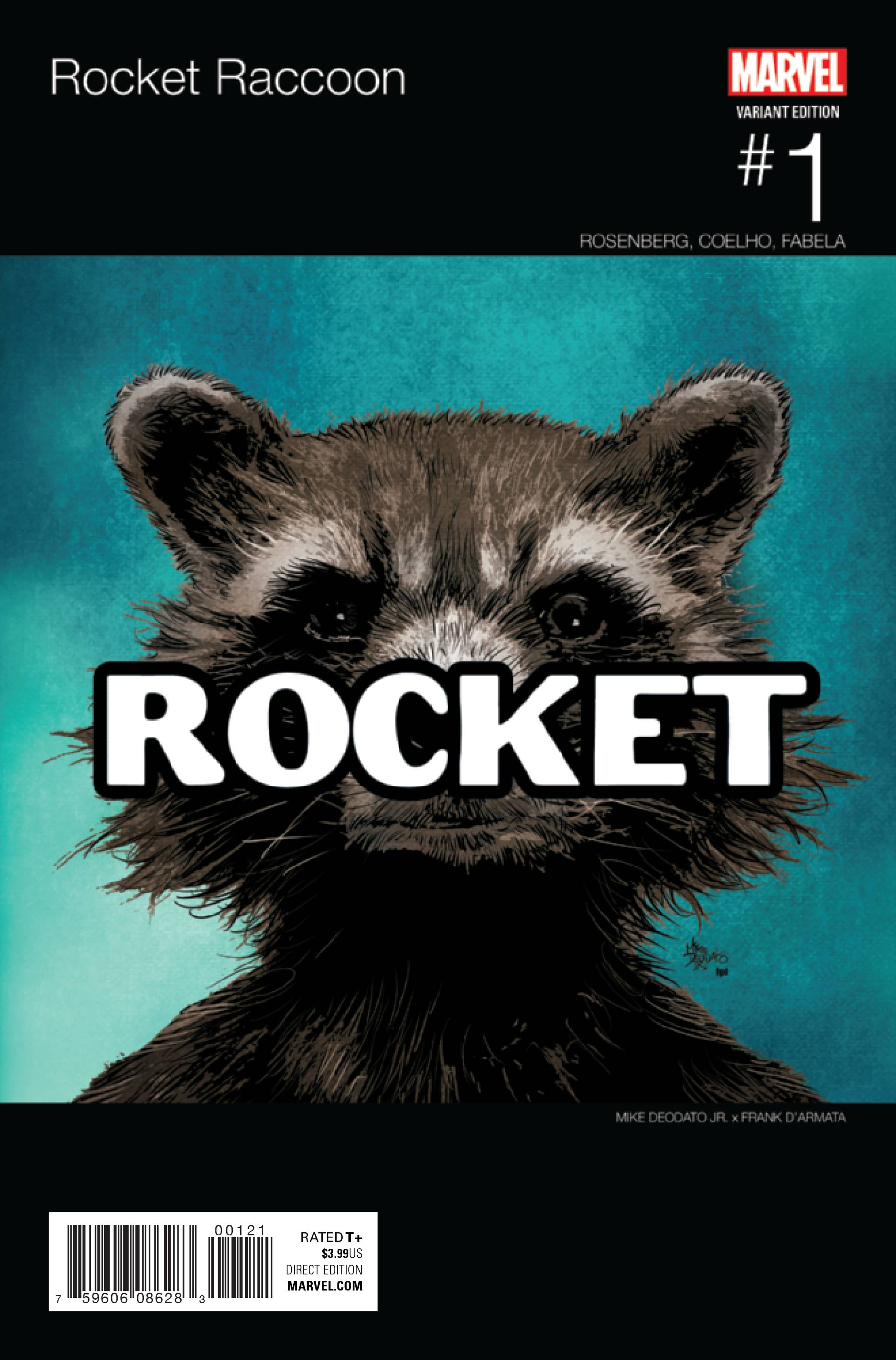 ROCKET RACCOON #1 DEODATO HIP HOP VAR NOW