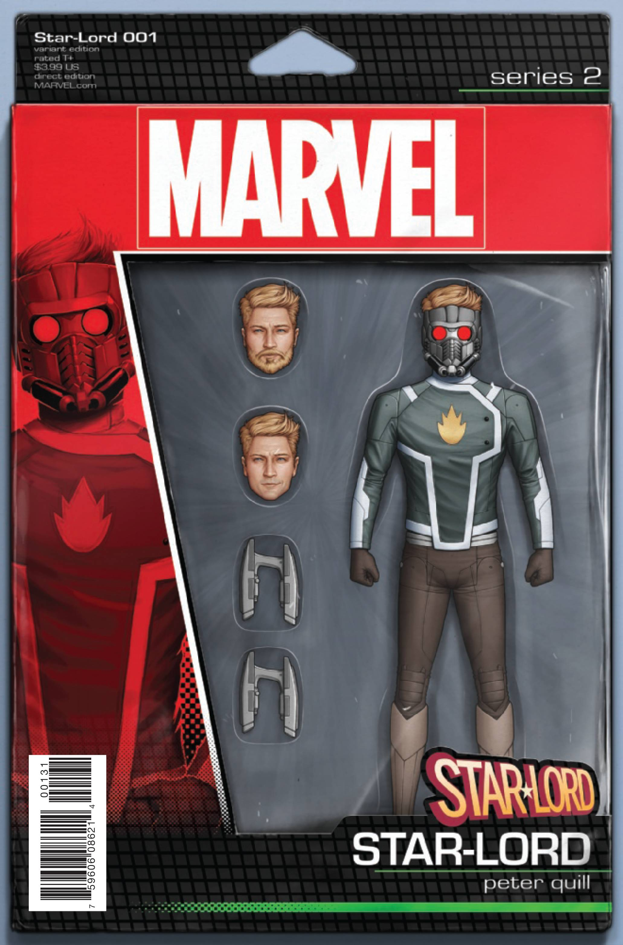STAR-LORD #1 CHRISTOPHER ACTION FIGURE VAR NOW