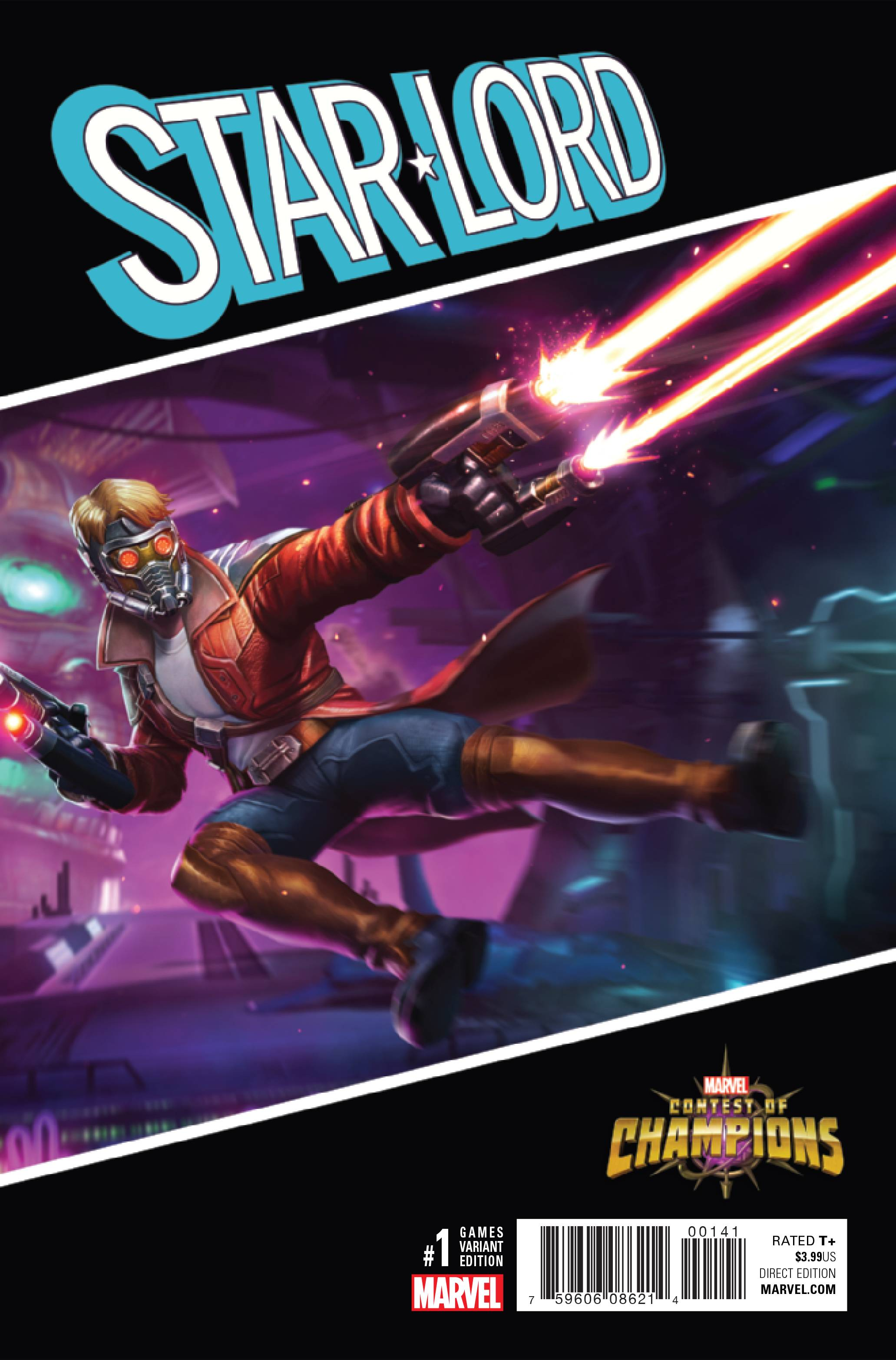 STAR-LORD #1 GAMES VAR NOW