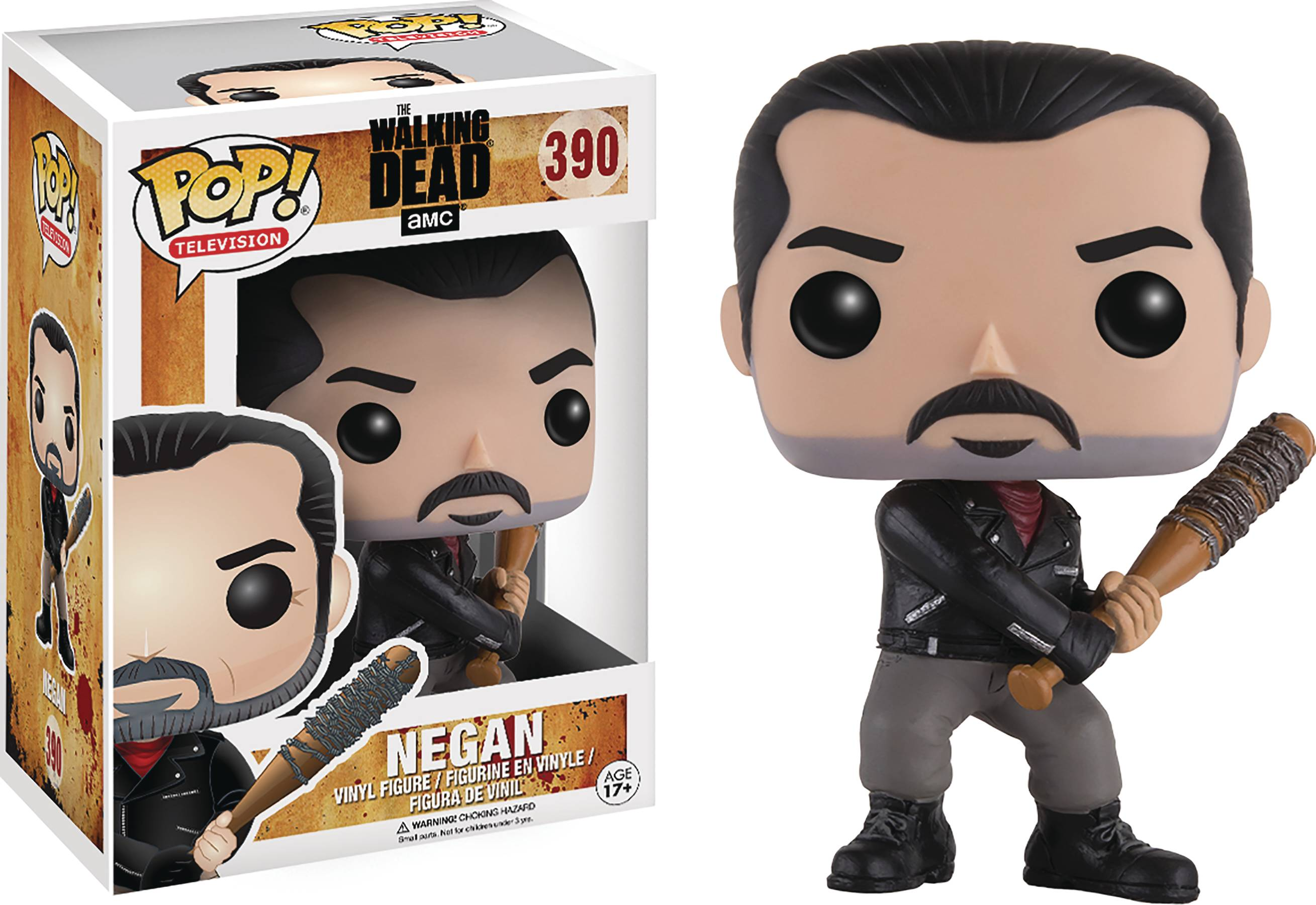 POP WALKING DEAD NEGAN VINYL FIG