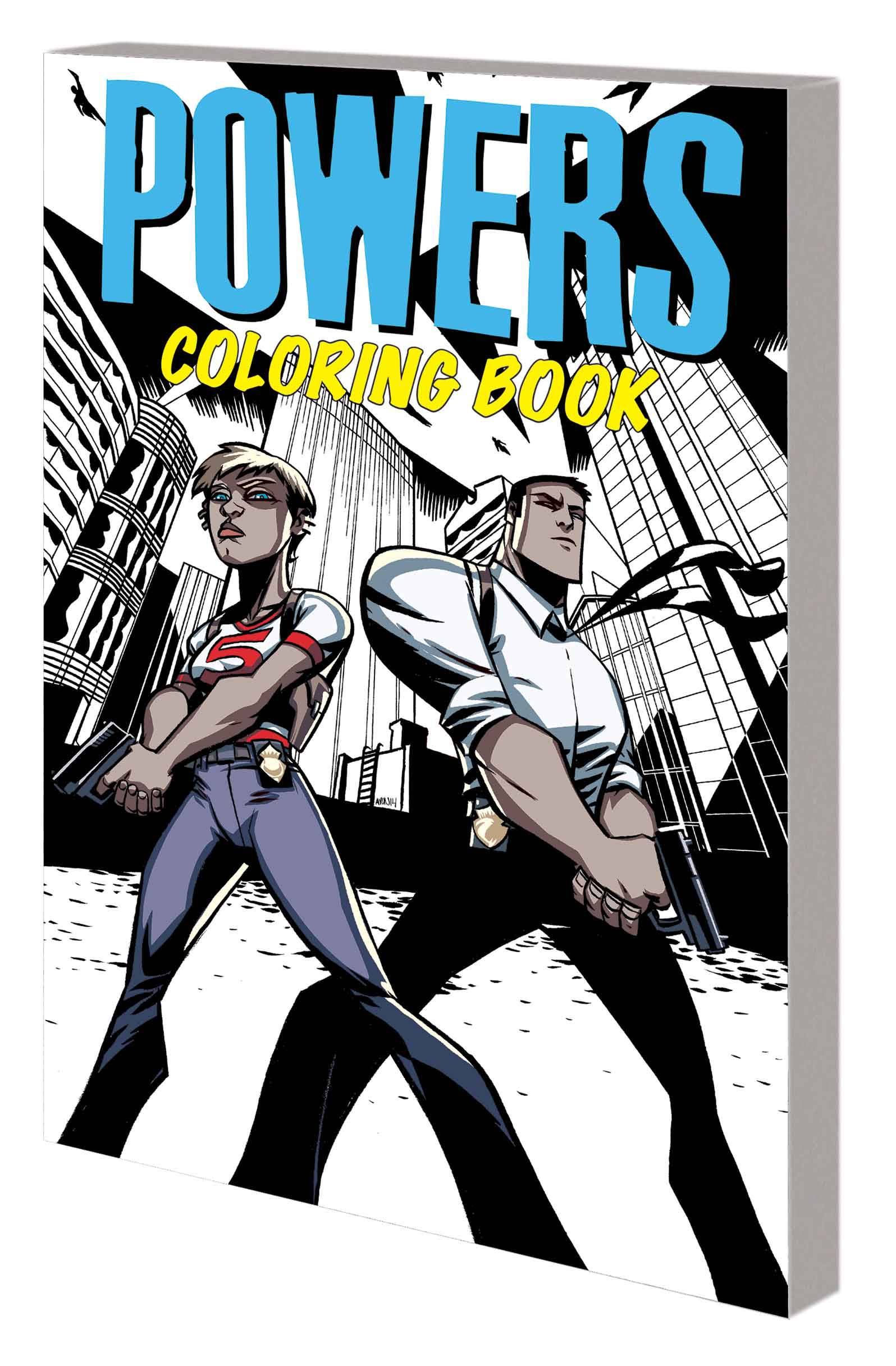 POWERS COLORING BOOK TP