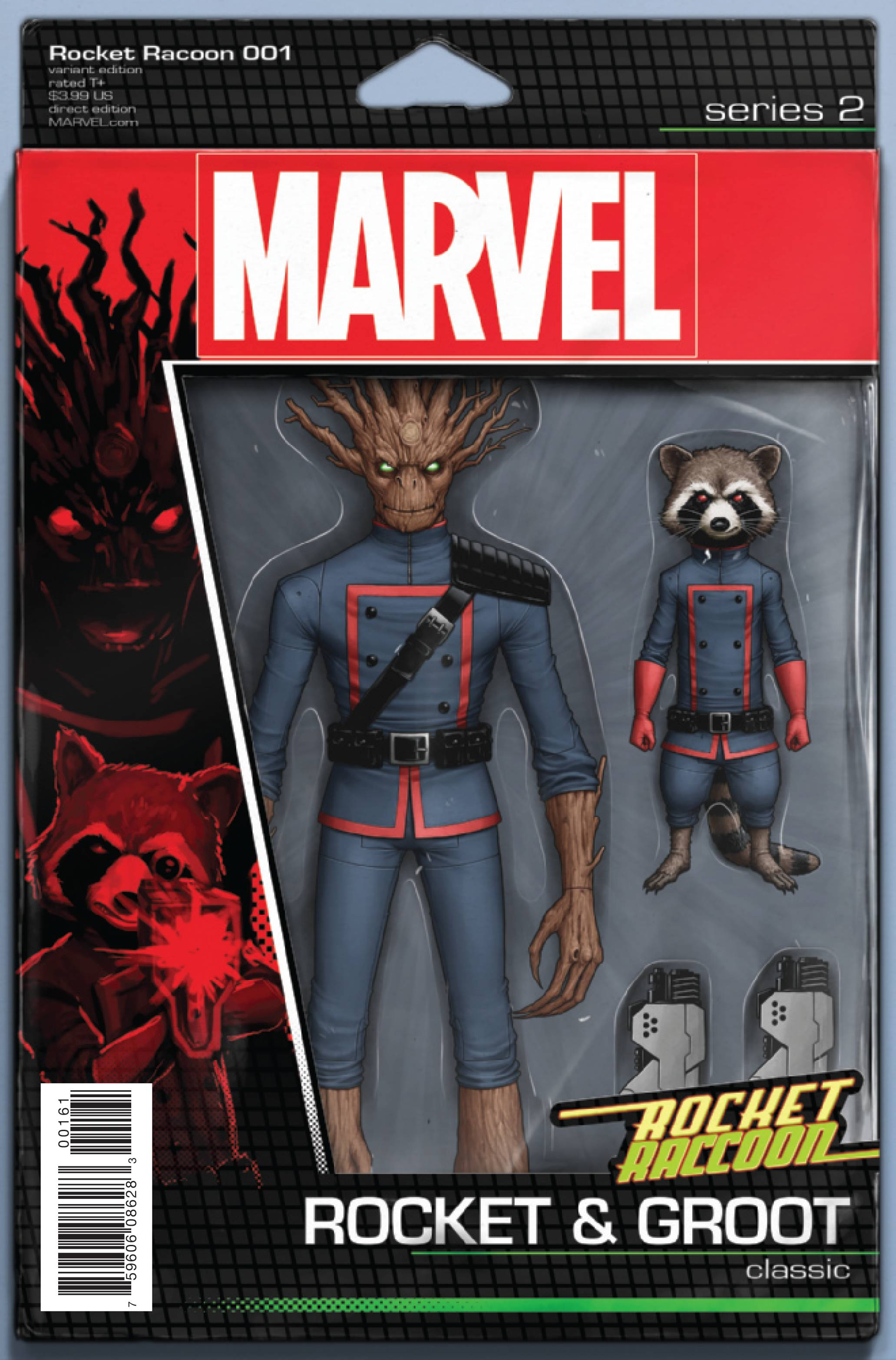 ROCKET RACCOON #1 CHRISTOPHER ACTION FIGURE VAR NOW