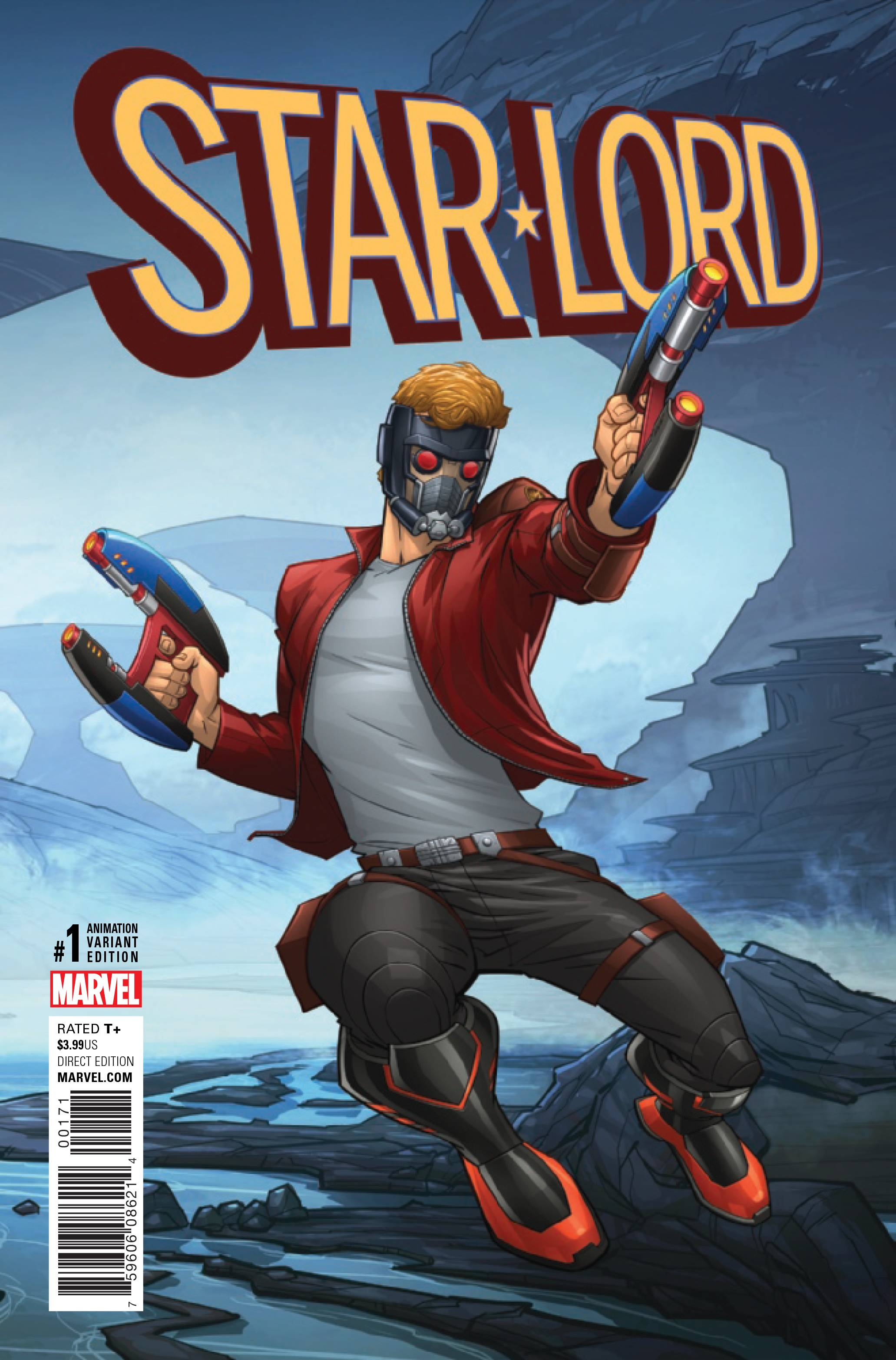 STAR-LORD #1 ANIMATION VAR NOW