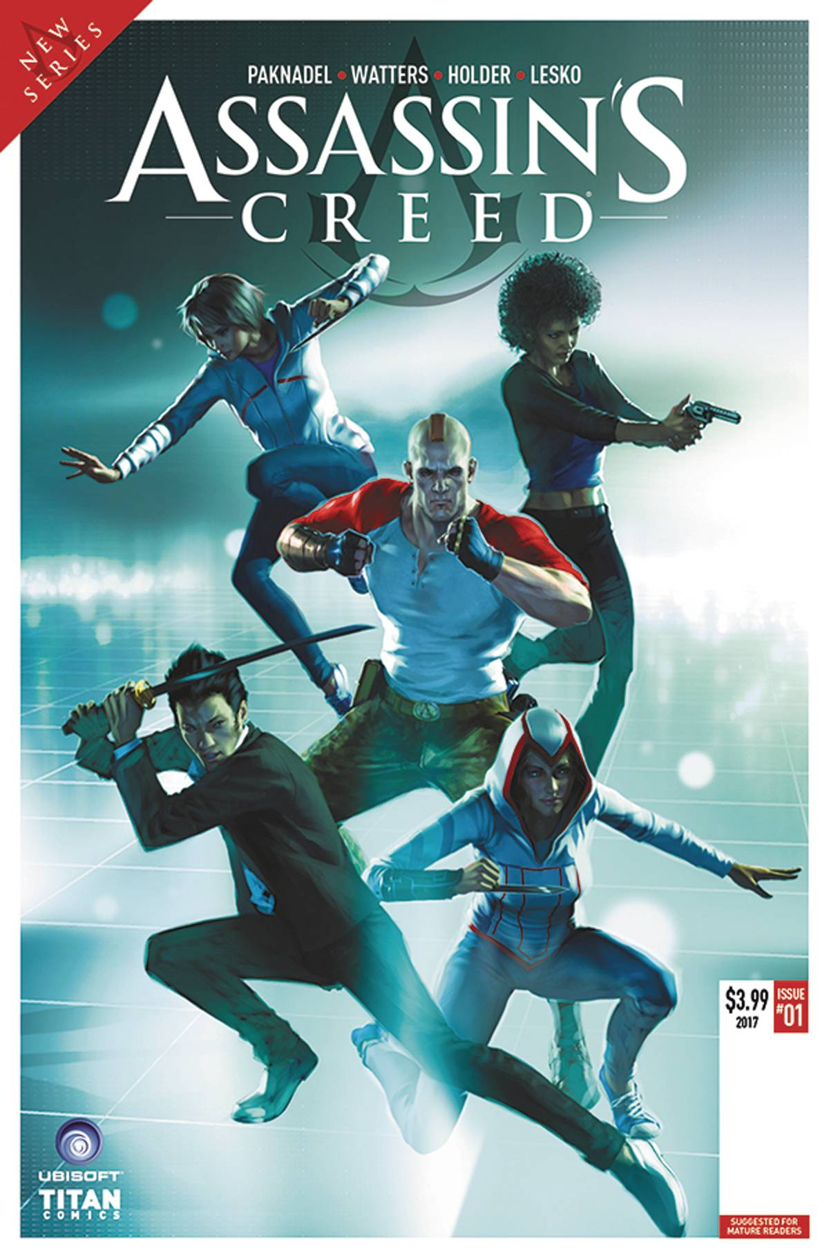 ASSASSINS CREED UPRISING #1 CVR A RONALD