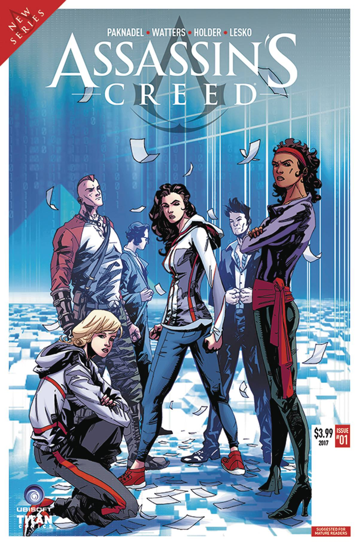 ASSASSINS CREED UPRISING #1 CVR D HOLDER