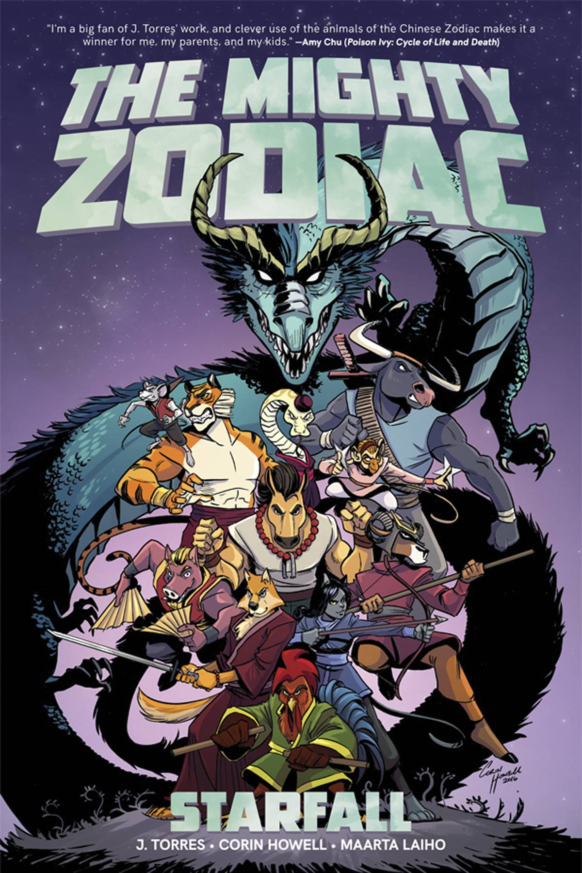 THE MIGHTY ZODIAC TP VOL 01