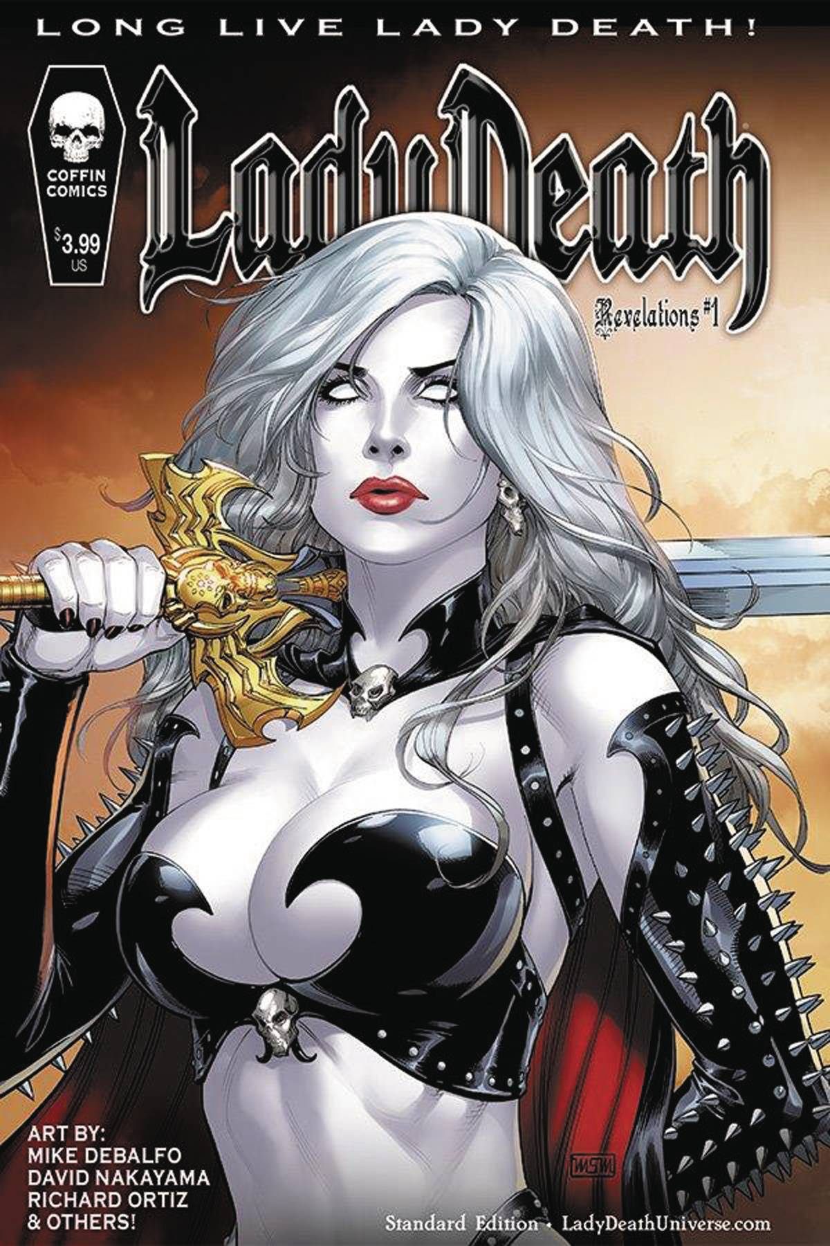LADY DEATH REVELATIONS ILLUSTRATED #1