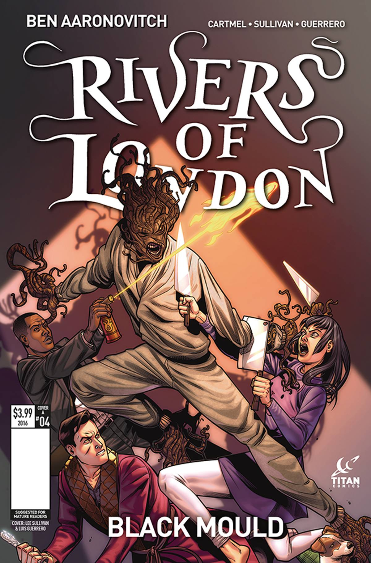 RIVERS OF LONDON BLACK MOULD #4