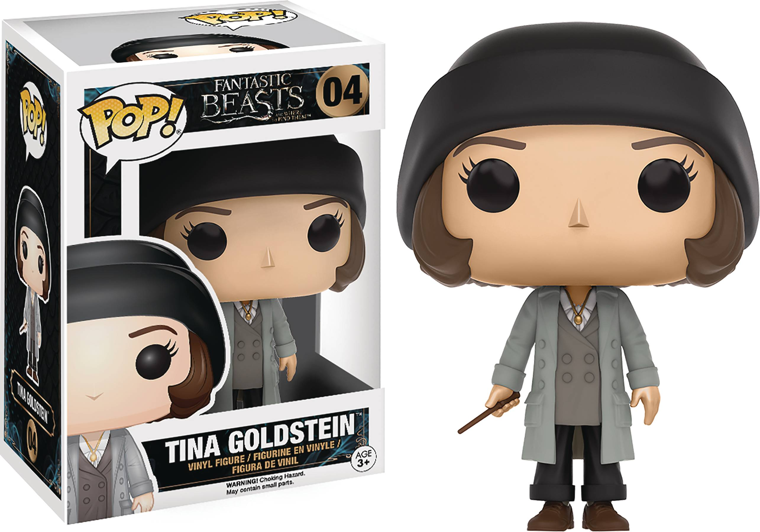 POP FANTASTIC BEASTS TINA VINYL FIG