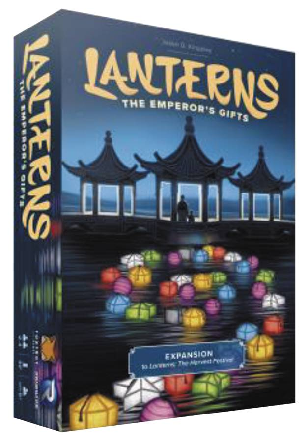 LANTERNS HARVEST EMPERORS GIFTS BOARD GAME EXP