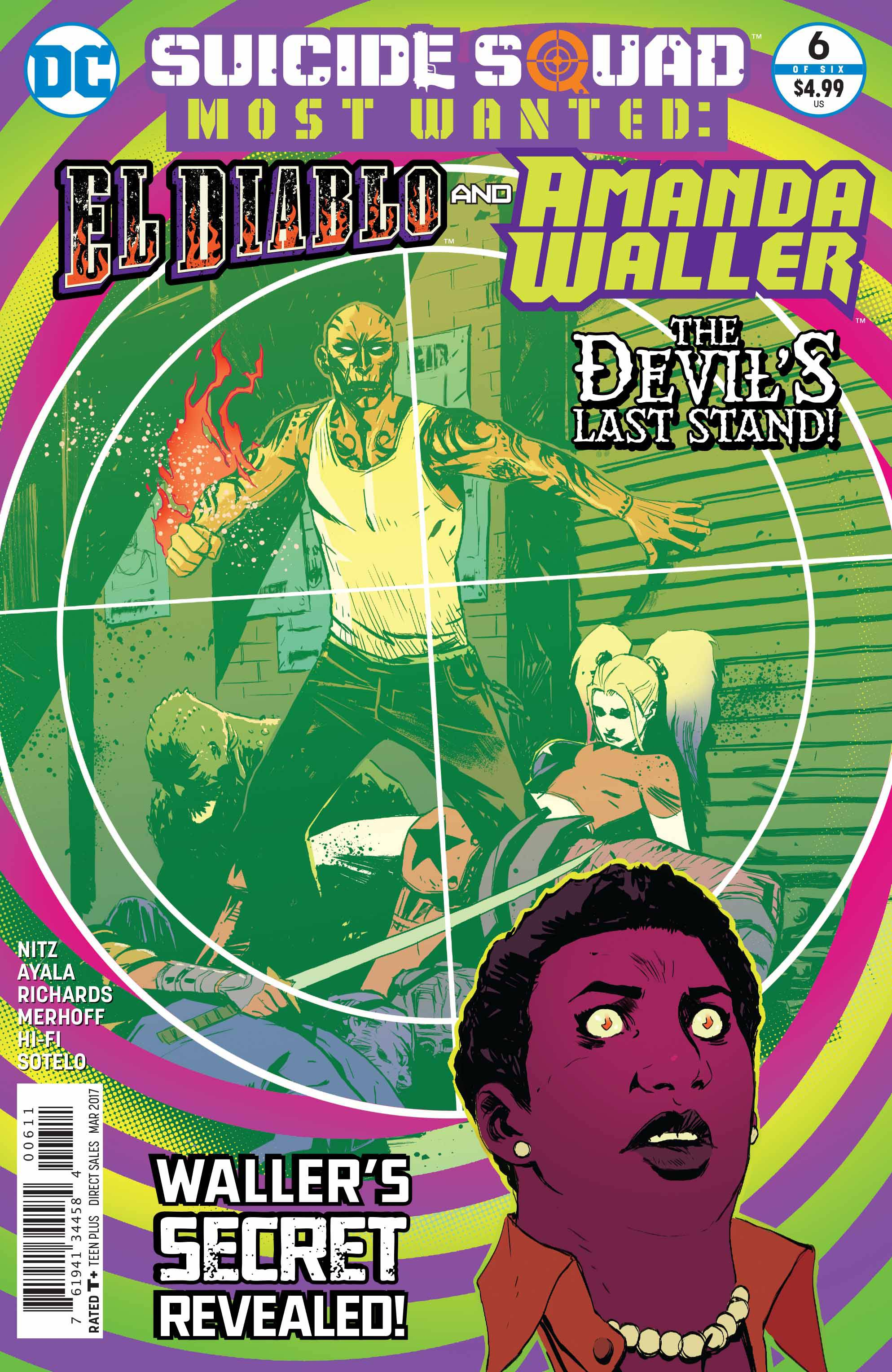 SUICIDE SQUAD MOST WANTED #6