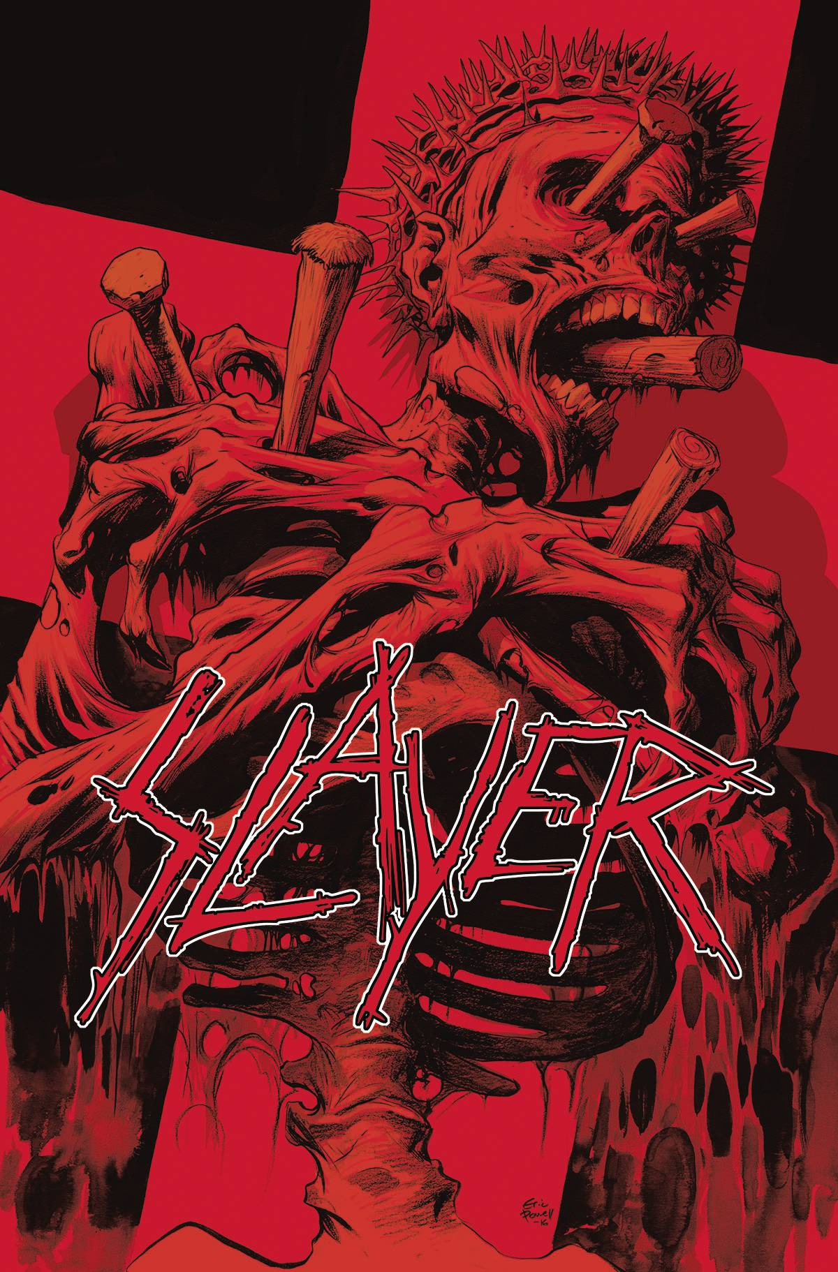 SLAYER REPENTLESS #1 (OF 3) VAR POWELL CVR