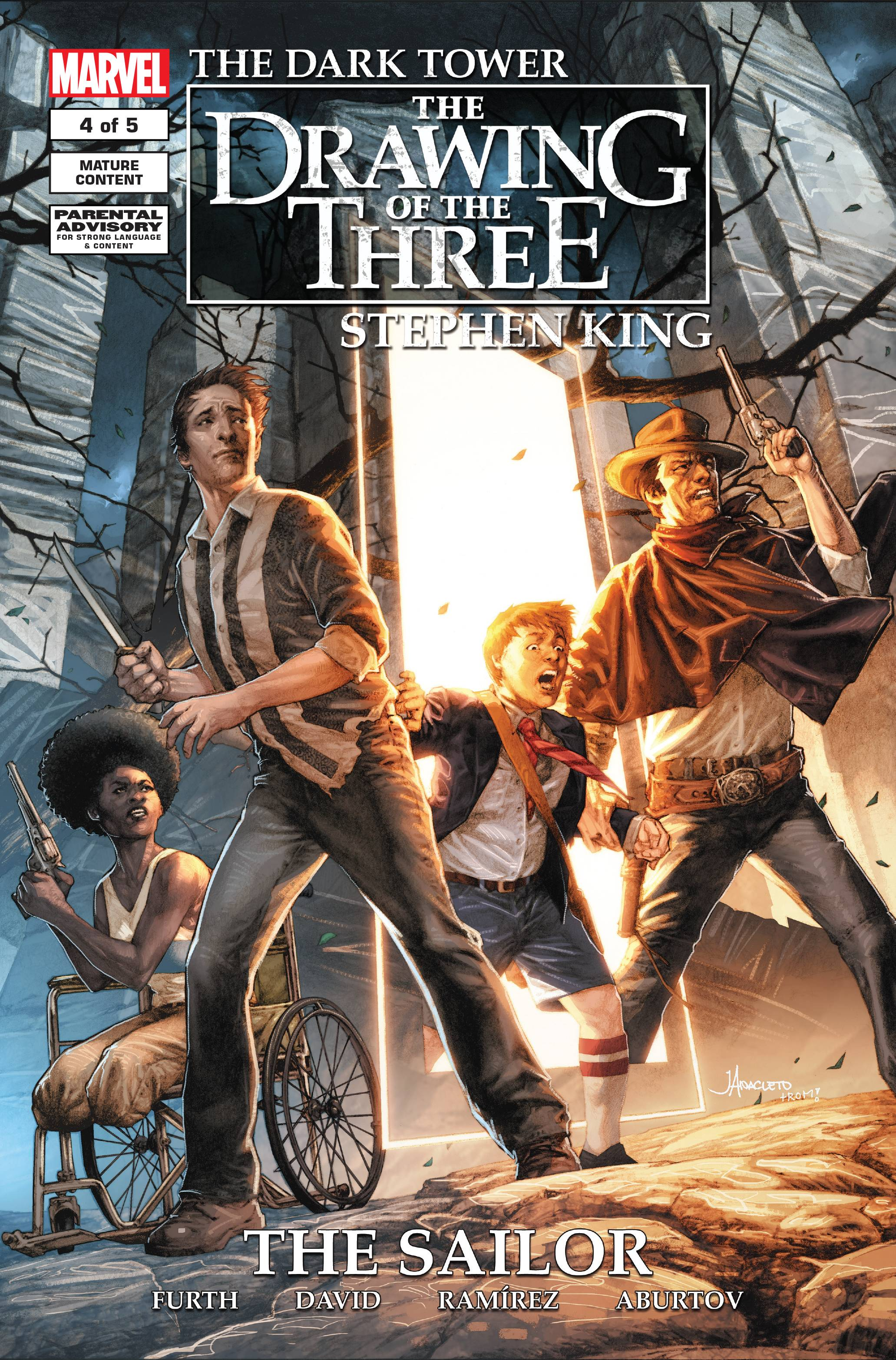 DARK TOWER DRAWING OF THREE SAILOR #4 (OF 5)