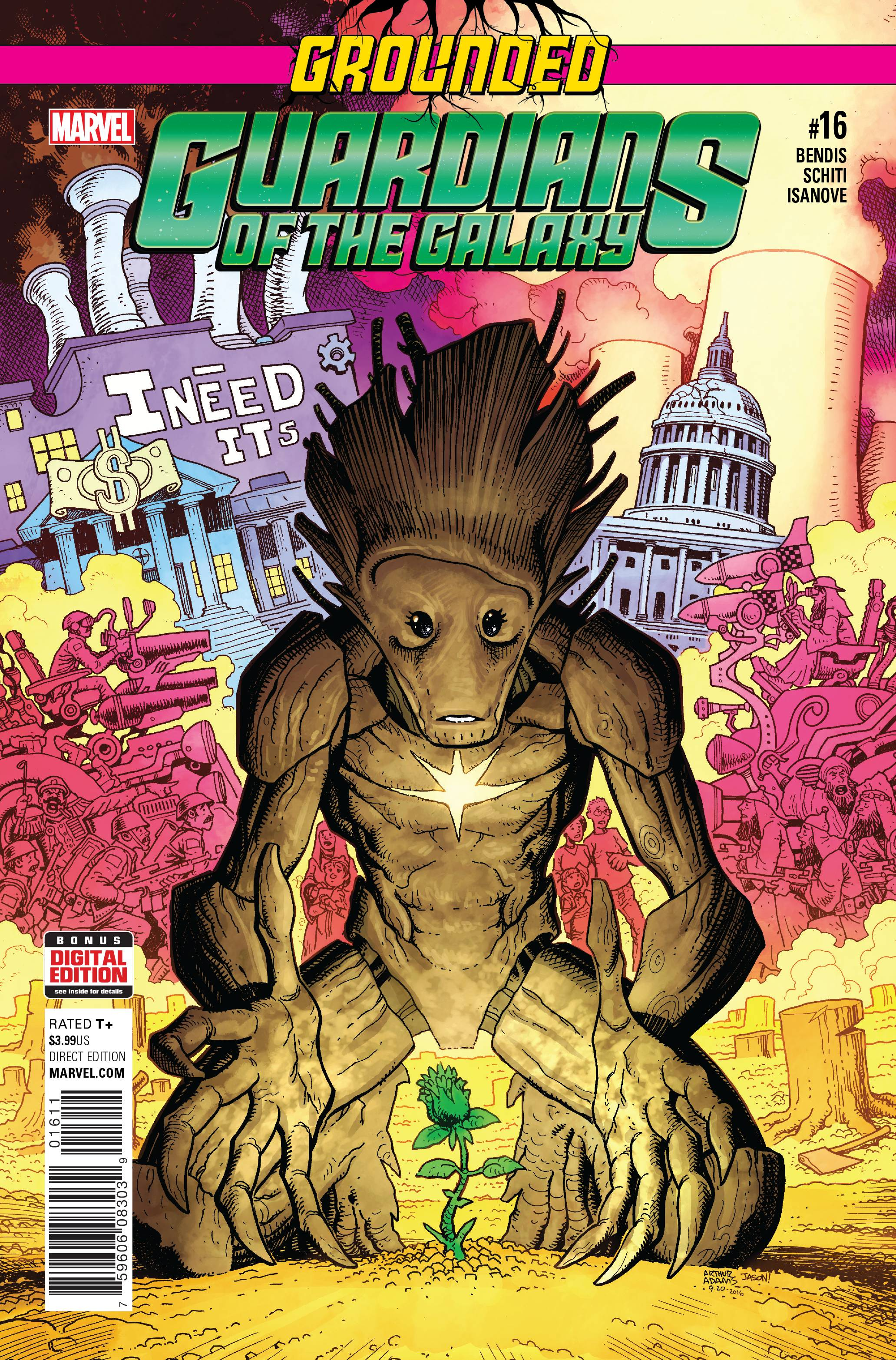 GUARDIANS OF GALAXY #16
