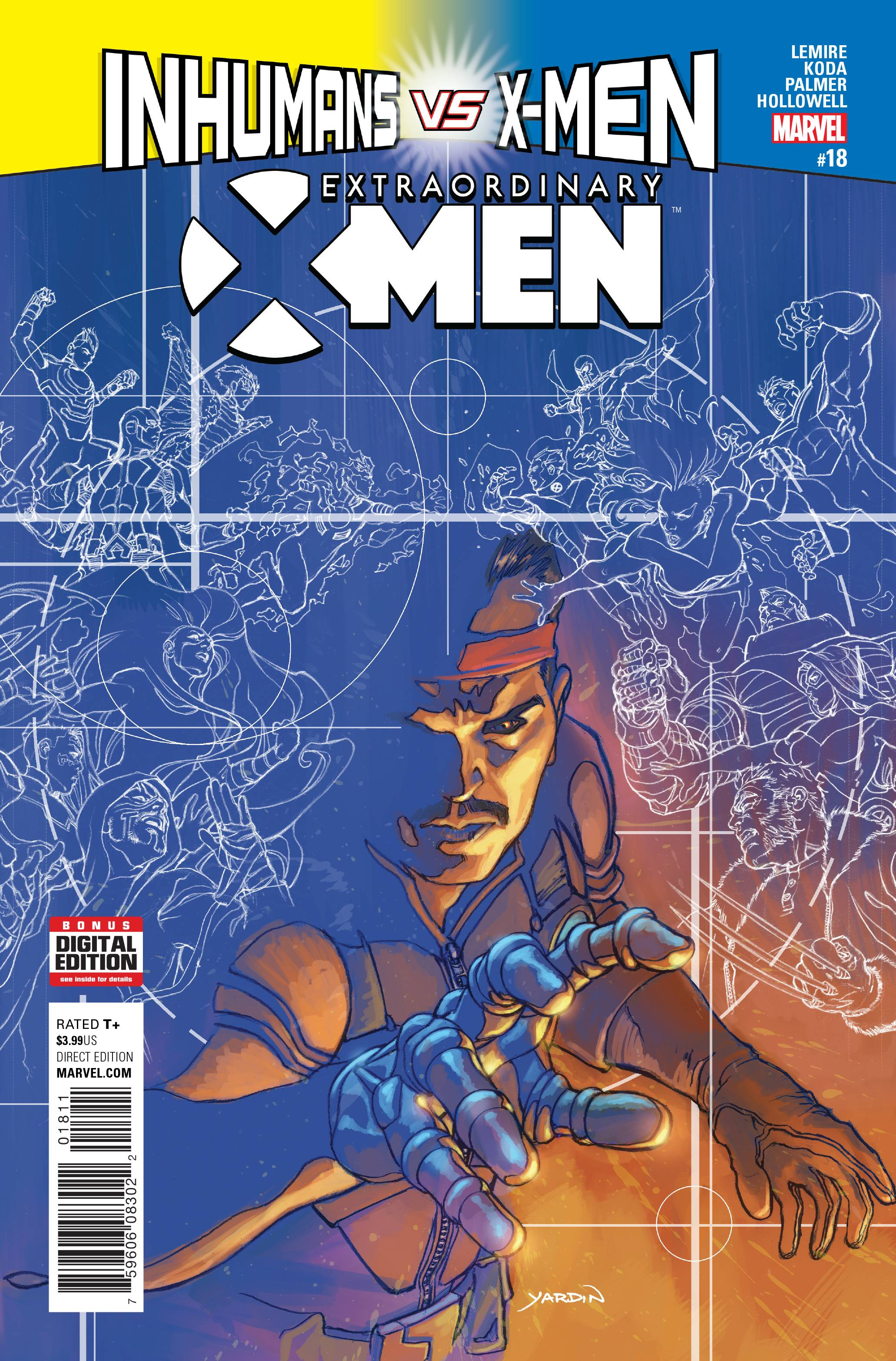 EXTRAORDINARY X-MEN #18 IVX