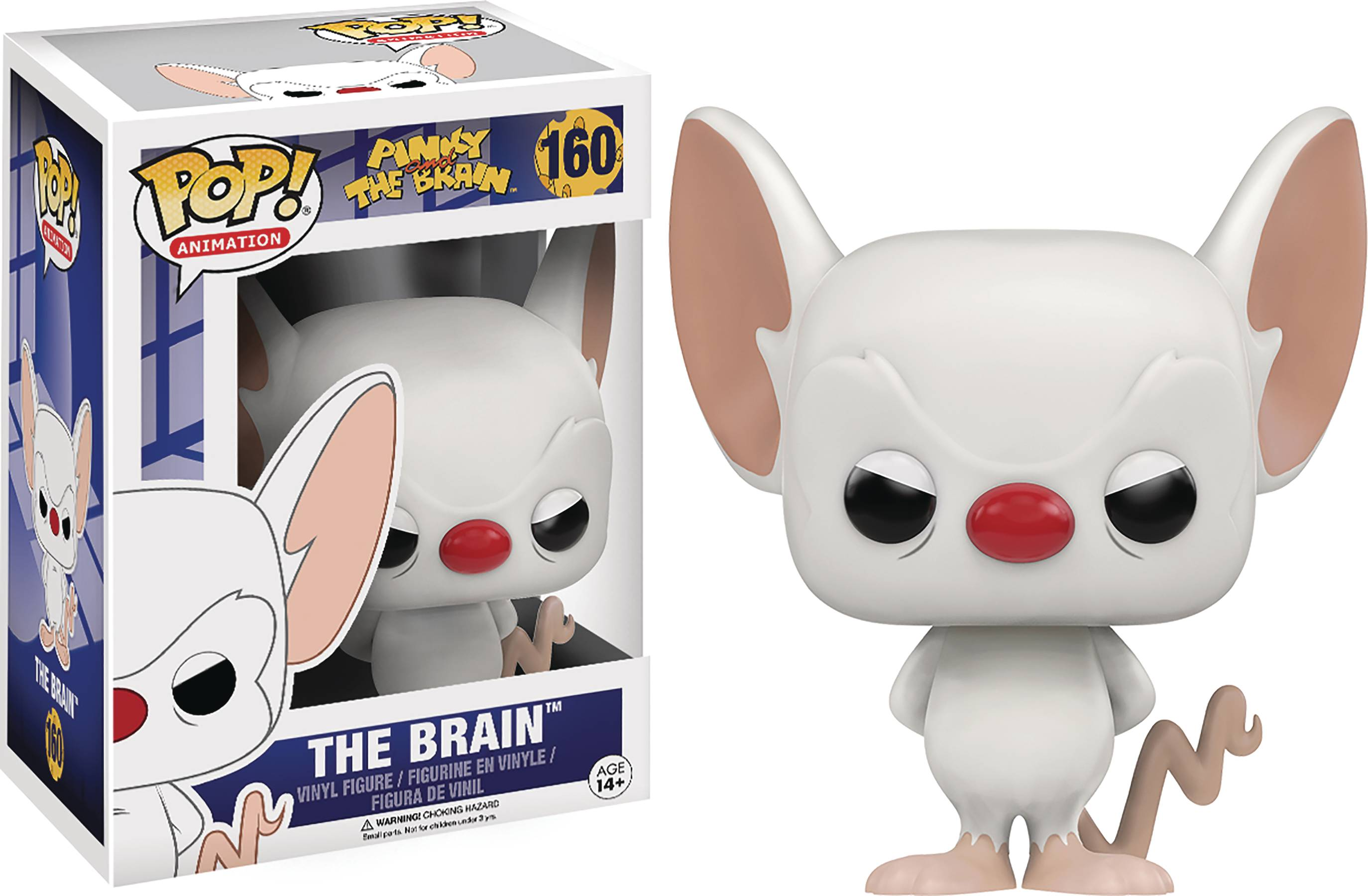 POP PINKY & THE BRAIN PINKY VINYL FIG
