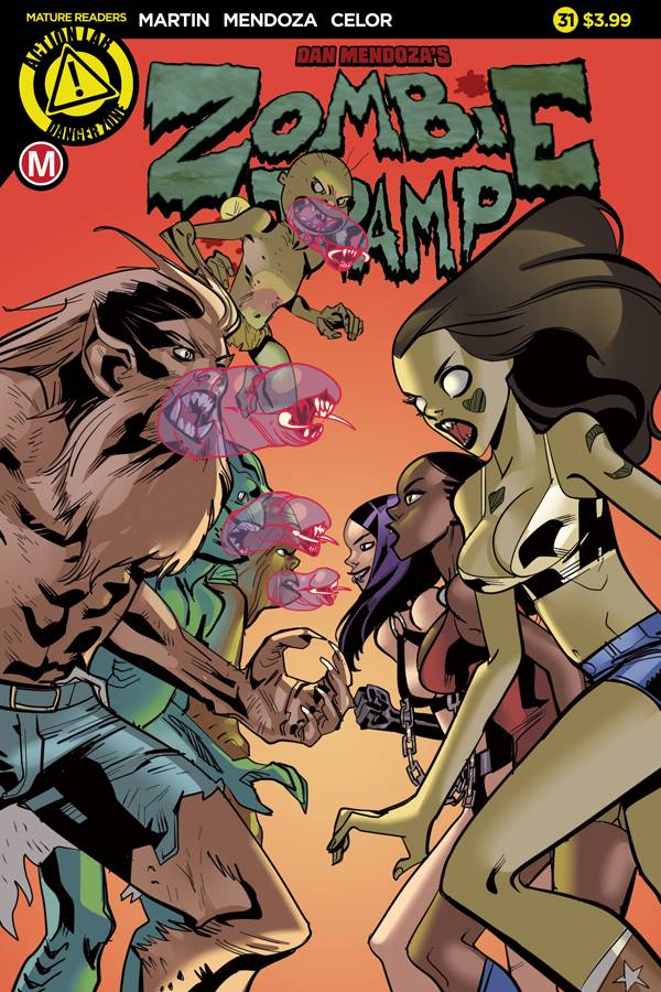 ZOMBIE TRAMP ONGOING #31 CVR A CELOR
