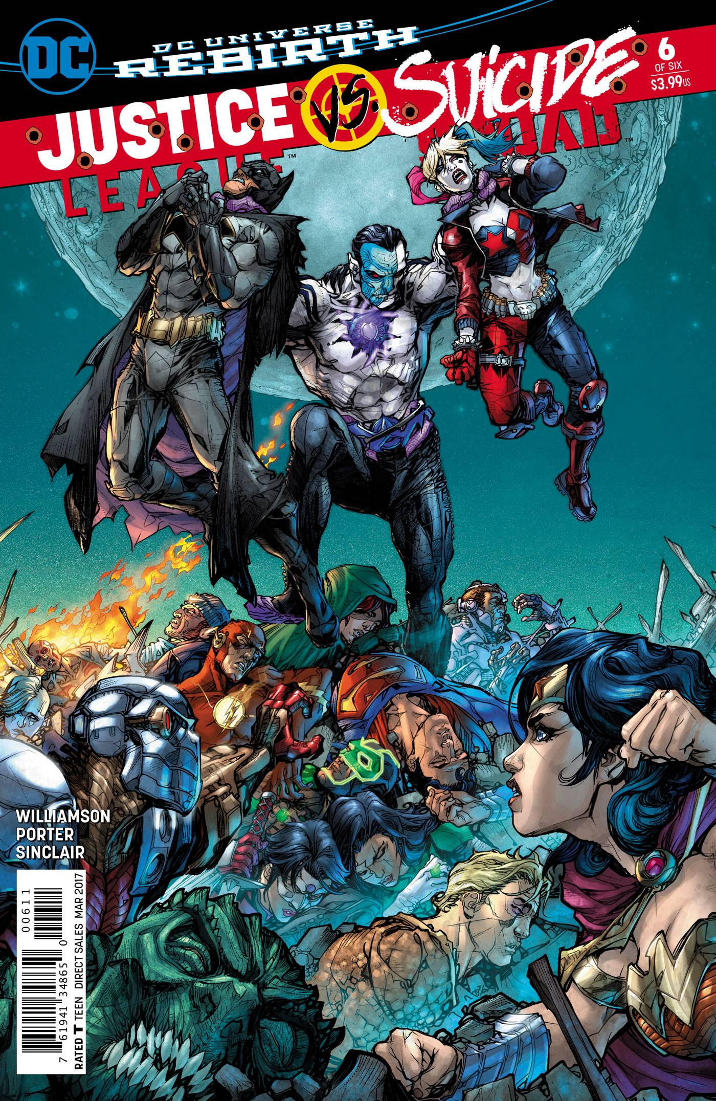 JUSTICE LEAGUE SUICIDE SQUAD #6