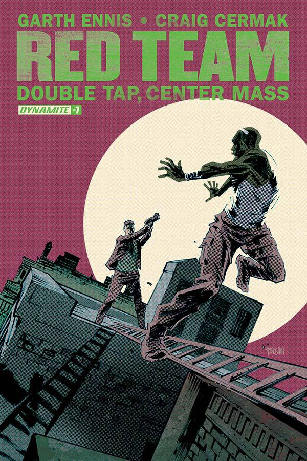 GARTH ENNIS RED TEAM DOUBLE TAP #7 (OF 9)