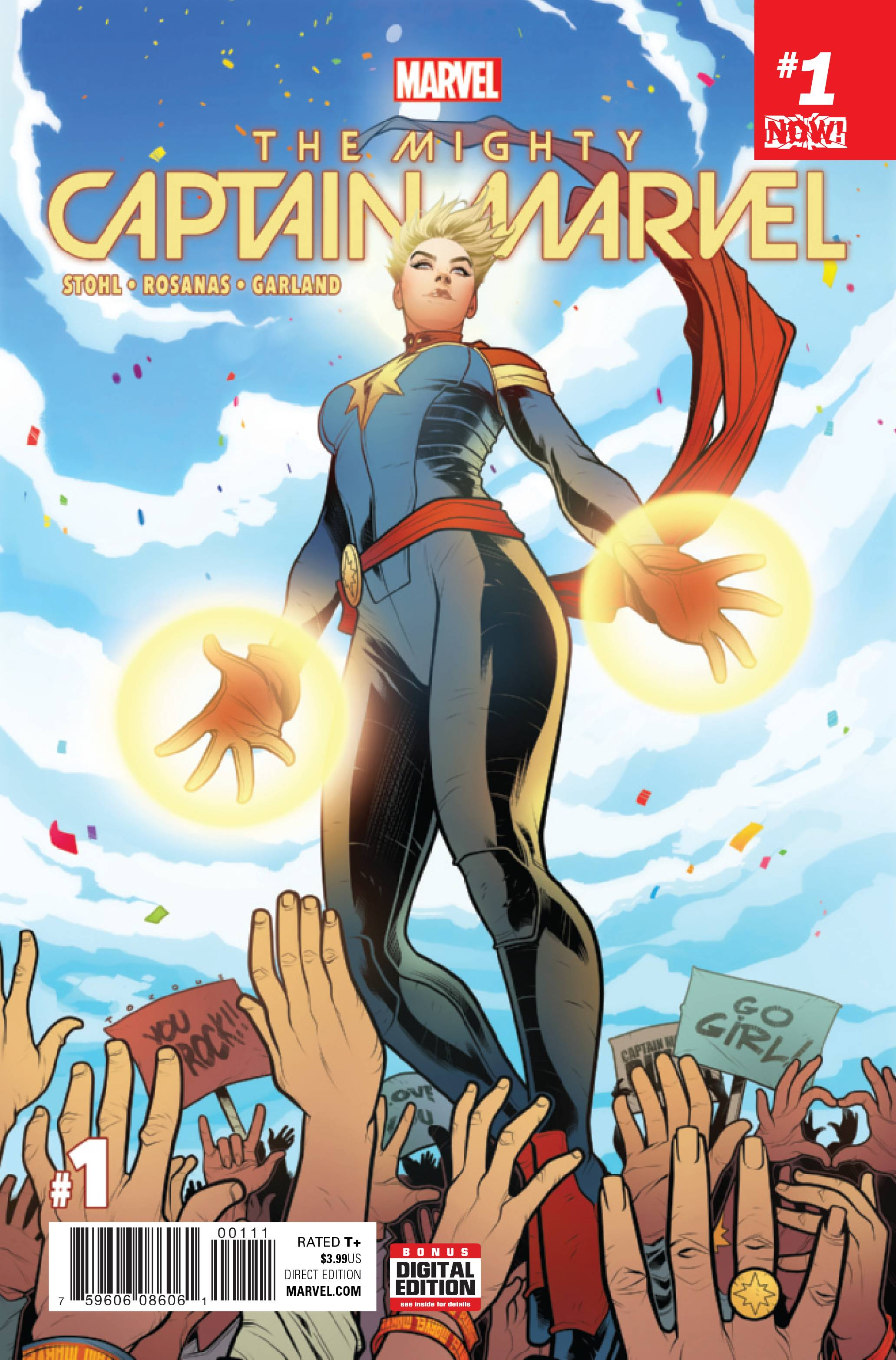 MIGHTY CAPTAIN MARVEL #1 NOW
