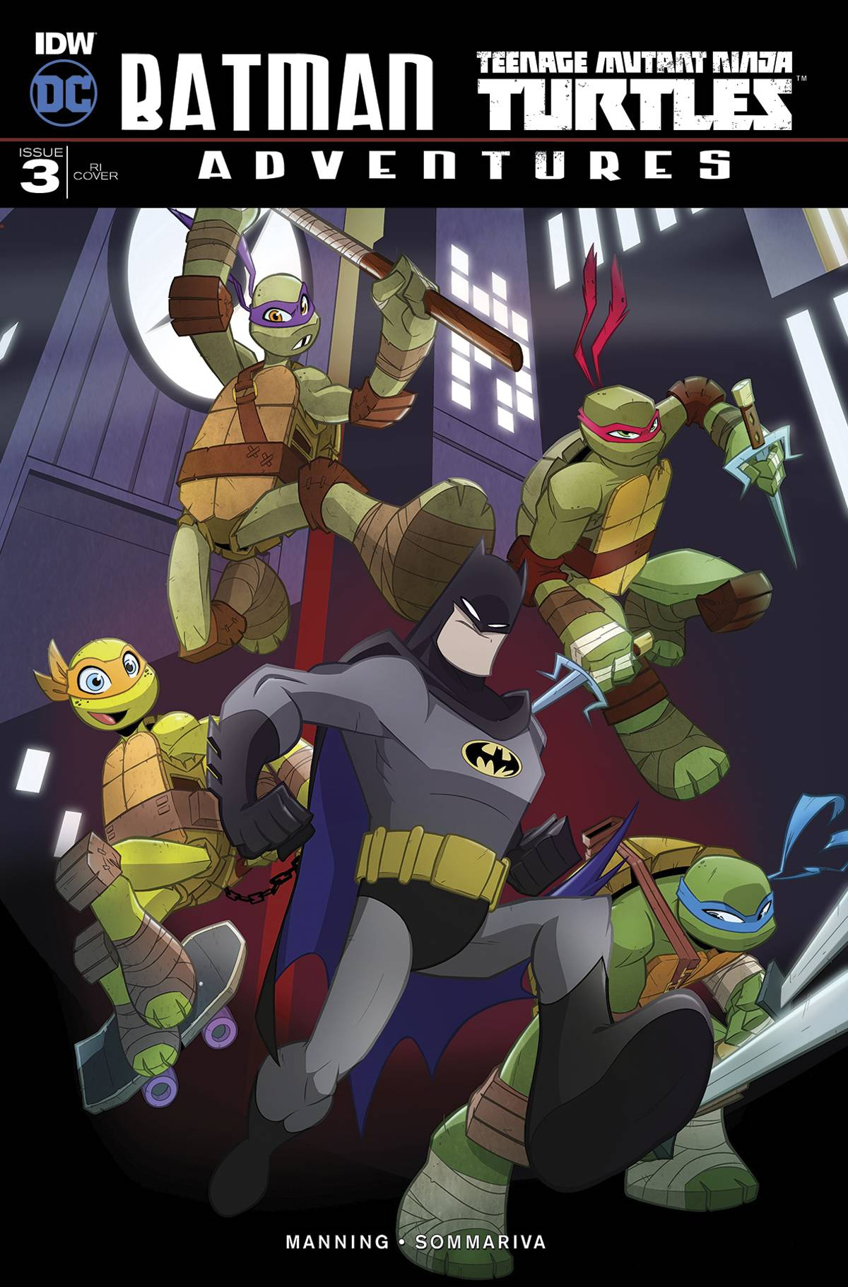 BATMAN TMNT ADVENTURES #3