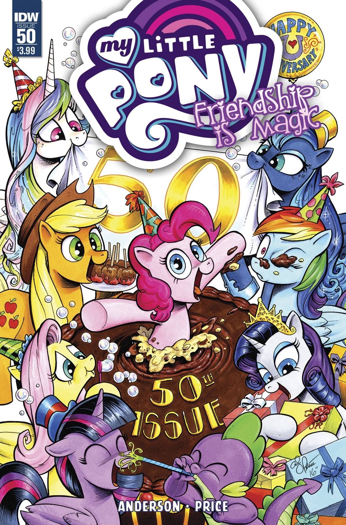 MY LITTLE PONY FRIENDSHIP IS MAGIC #50