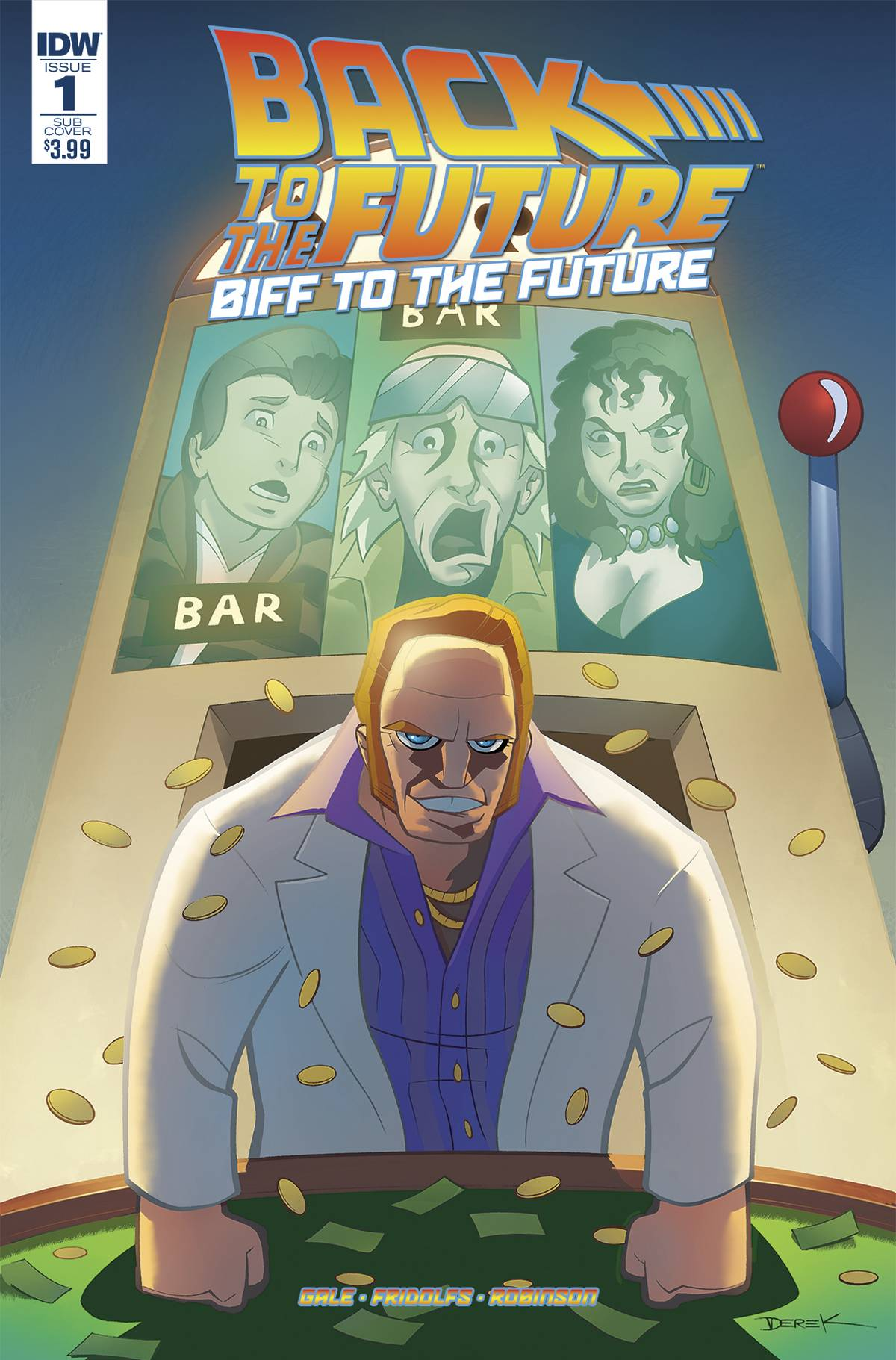 BACK TO THE FUTURE BIFF TO THE FUTURE #1