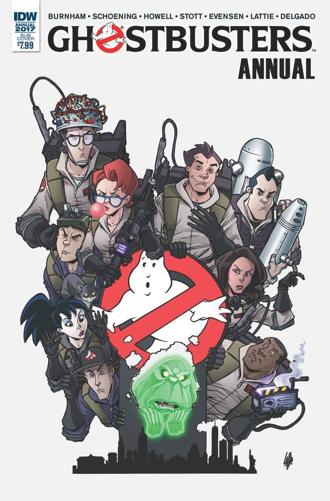 GHOSTBUSTERS ANNUAL 2017 SUBSCRIPTION VAR
