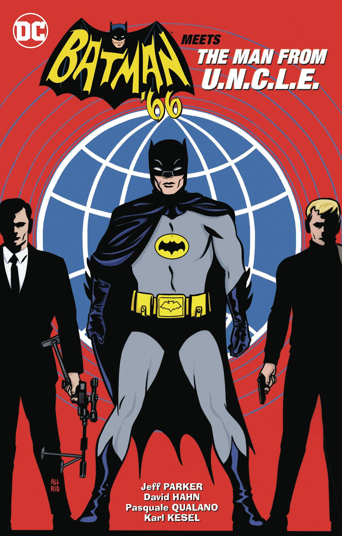 BATMAN 66 MEETS THE MAN FROM UNCLE TP