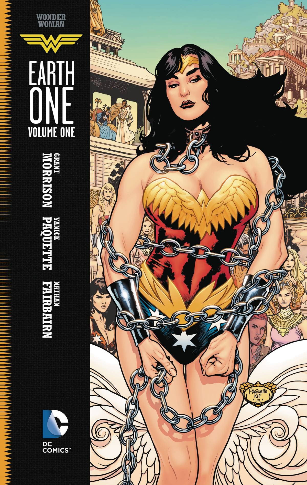 WONDER WOMAN EARTH ONE TP VOL 01