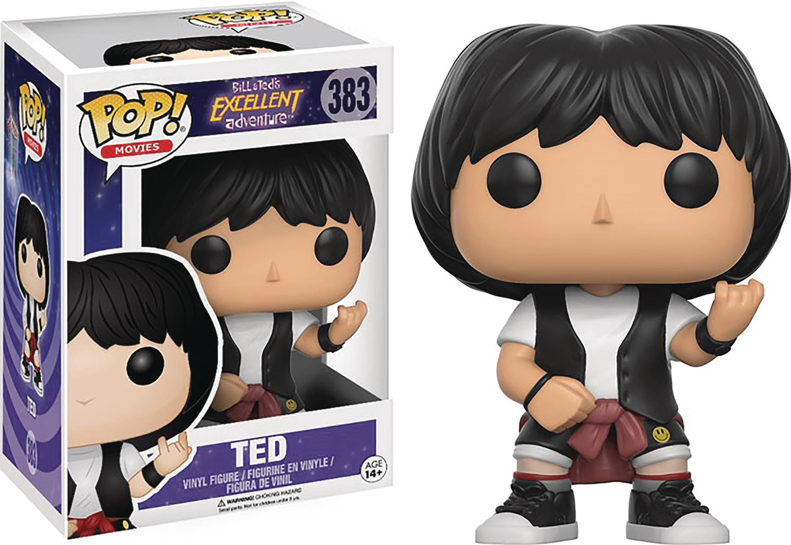 POP BILL & TED TED VINYL FIG