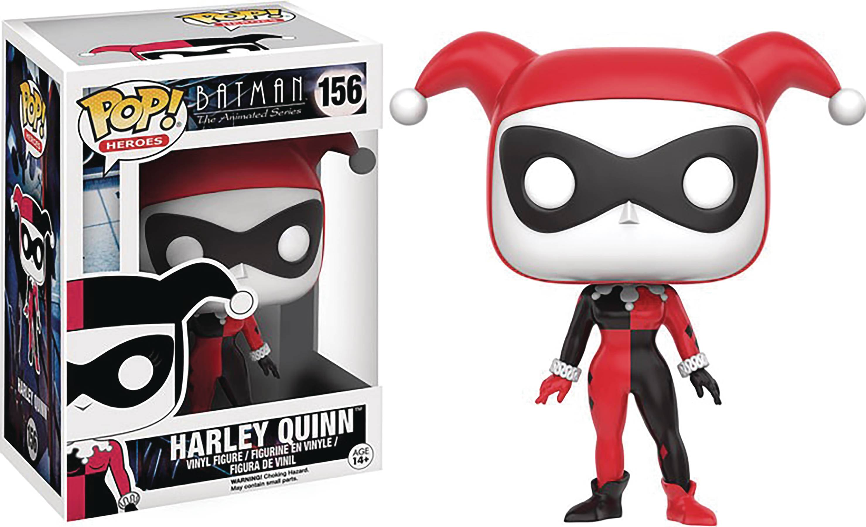 POP BTAS HARLEY QUINN VINYL FIG