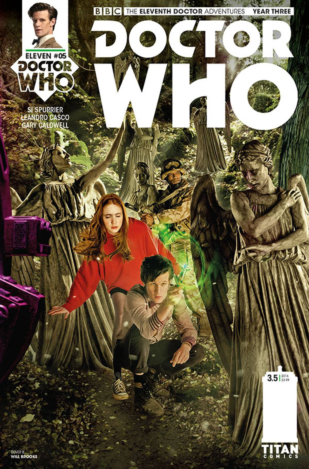 DOCTOR WHO 11TH YEAR THREE #5 CVR B PHOTO
