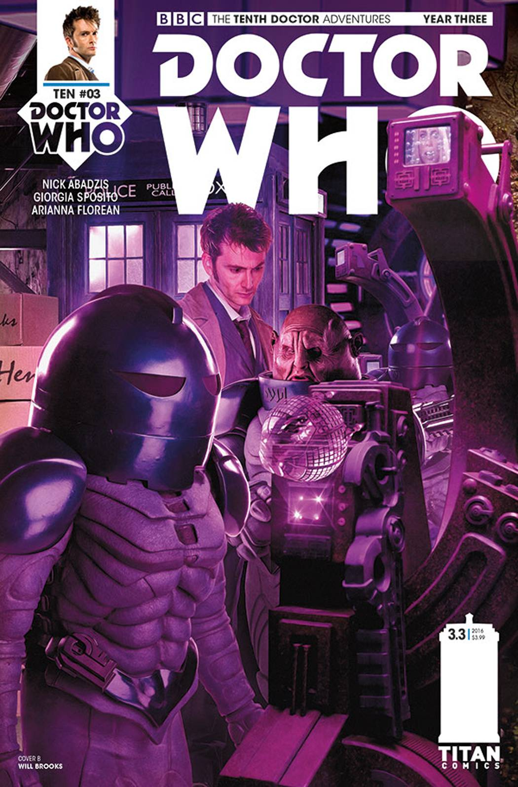 DOCTOR WHO 10TH YEAR THREE #3 CVR B PHOTO
