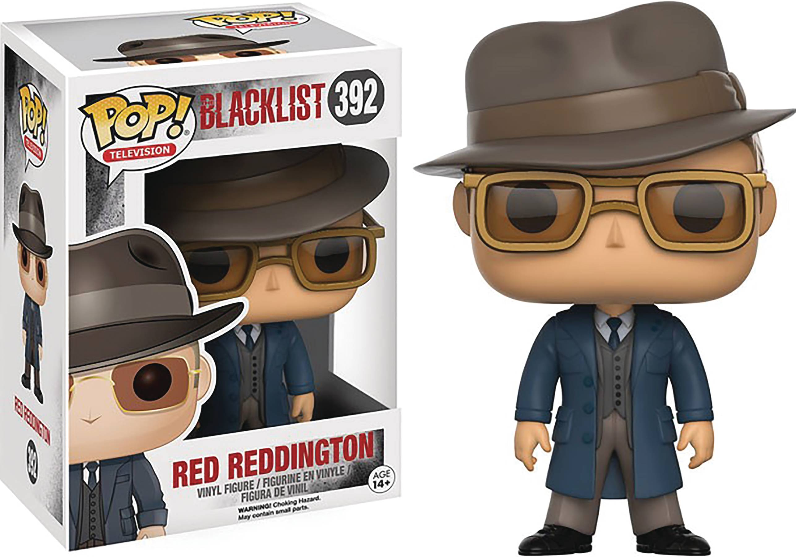 POP BLACKLIST RAYMOND REDDINGTON VINYL FIGURE
