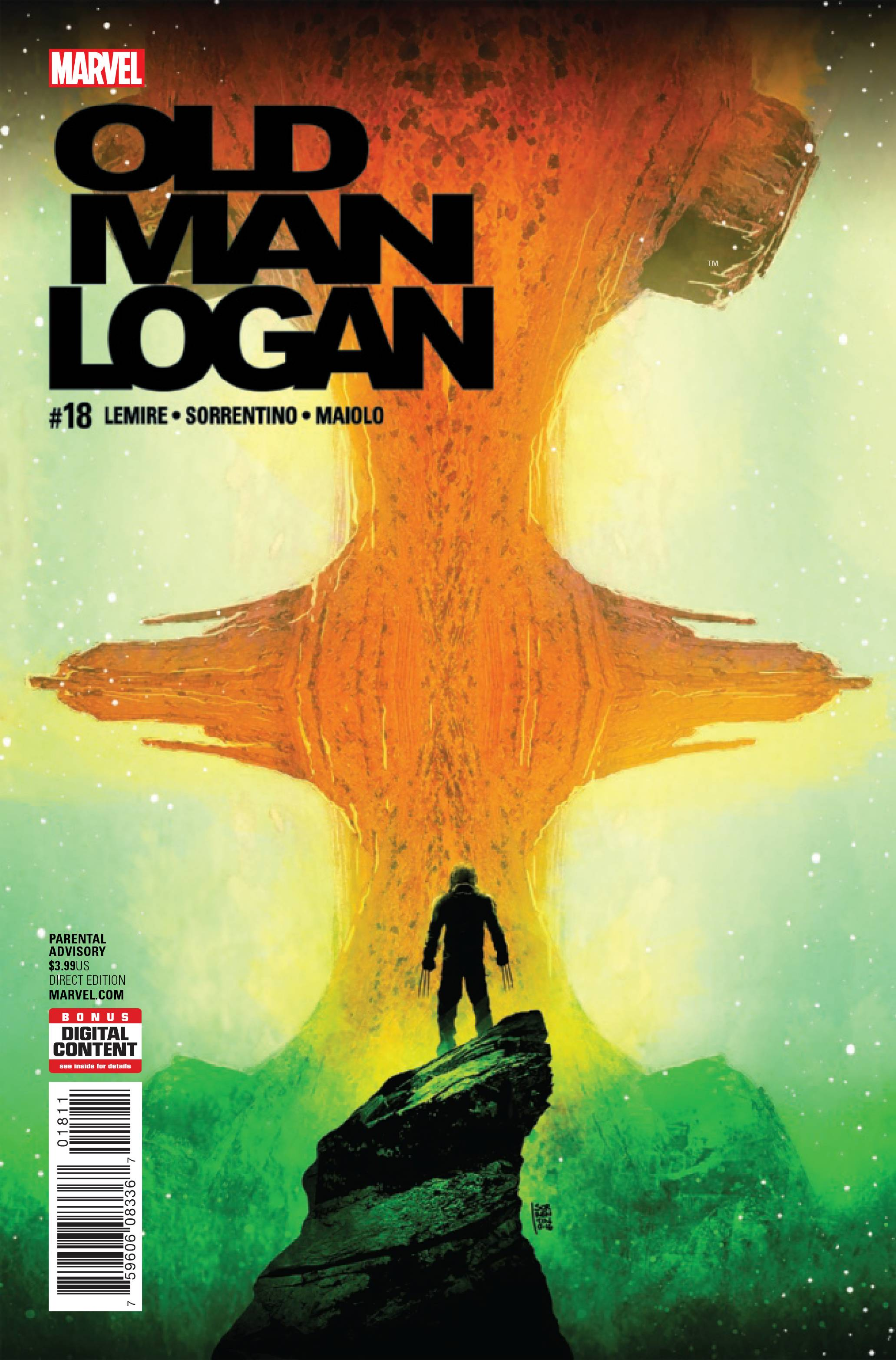 OLD MAN LOGAN #18