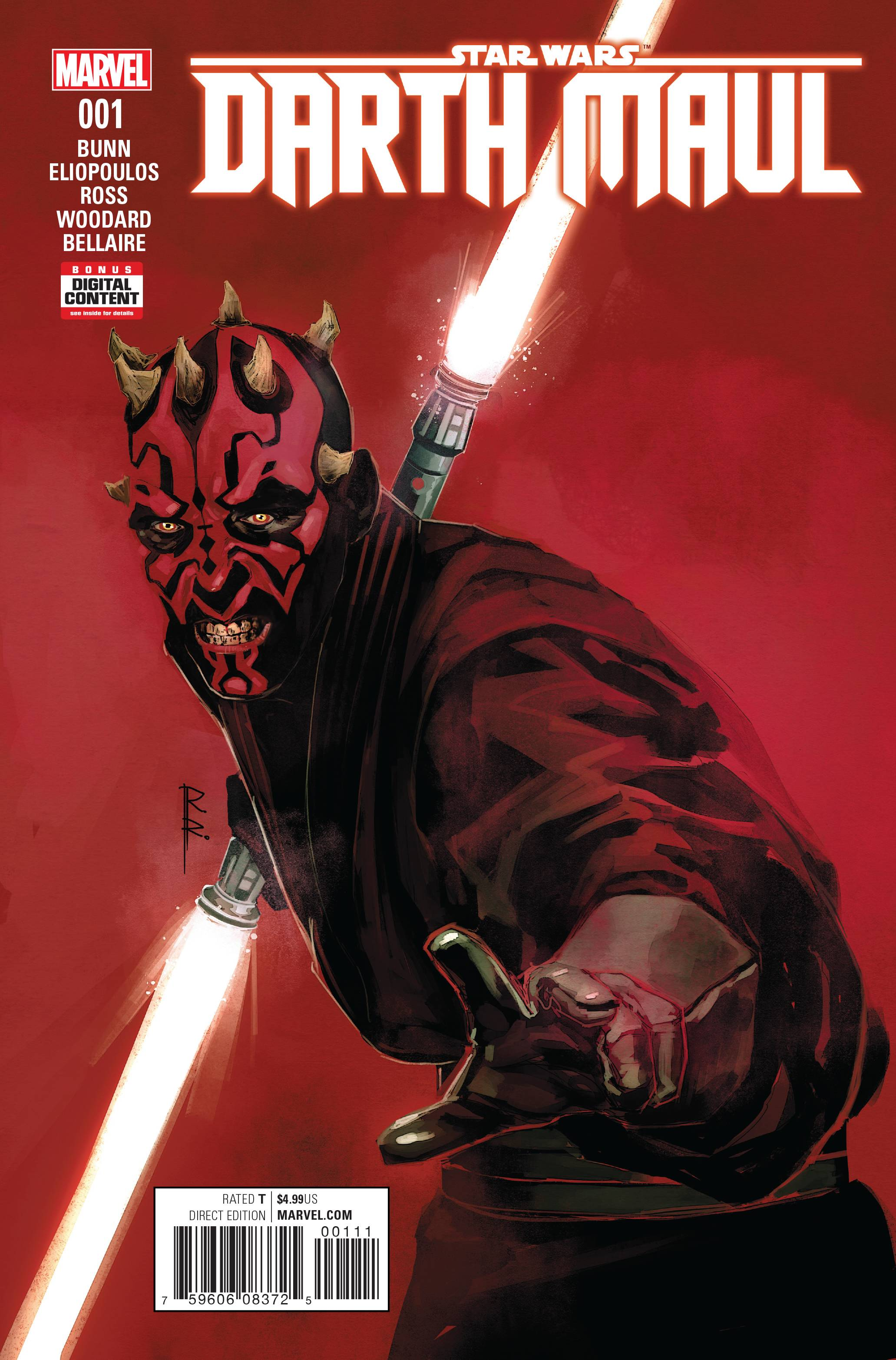 STAR WARS DARTH MAUL #1