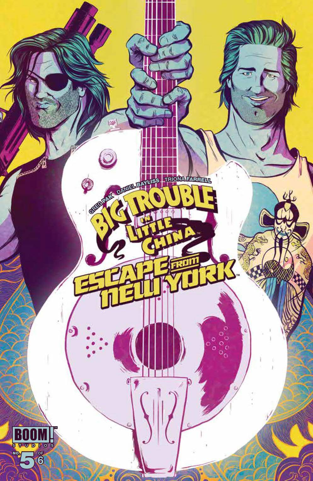 BIG TROUBLE LITTLE CHINA ESCAPE NEW YORK #5 WRAPAROUND BAYLI