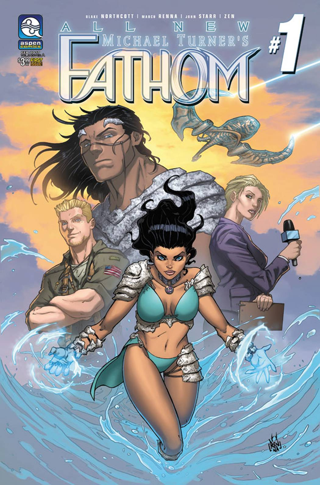 ALL NEW FATHOM #1 CVR A RENNA