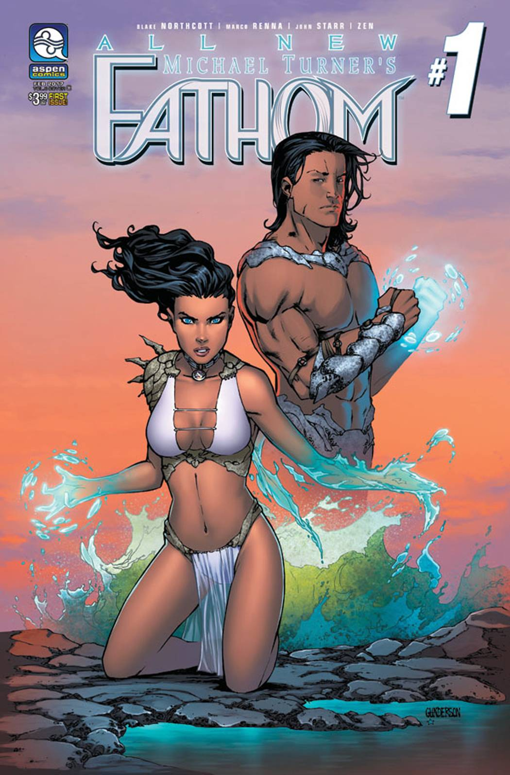 ALL NEW FATHOM #1 CVR C GUNDERSON