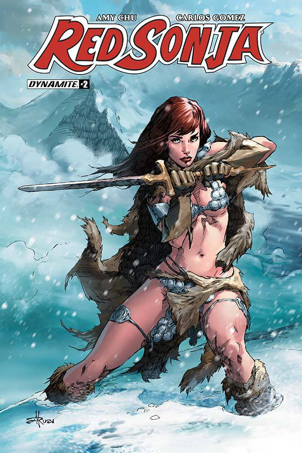 RED SONJA #2 CVR D RUBI EXC SUBSCRIPTION VAR