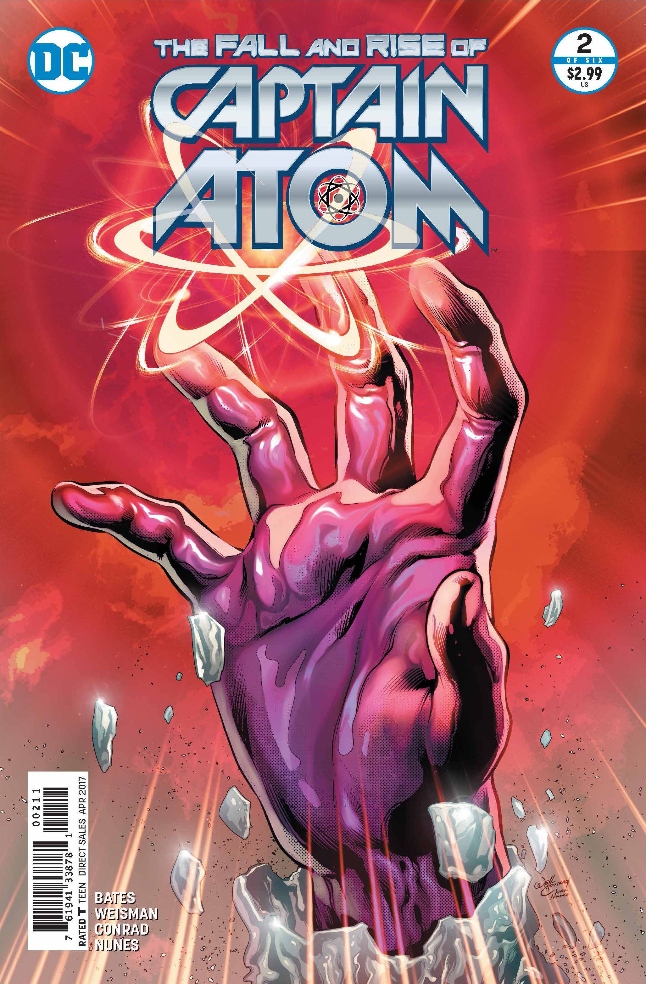 FALL AND RISE OF CAPTAIN ATOM #2