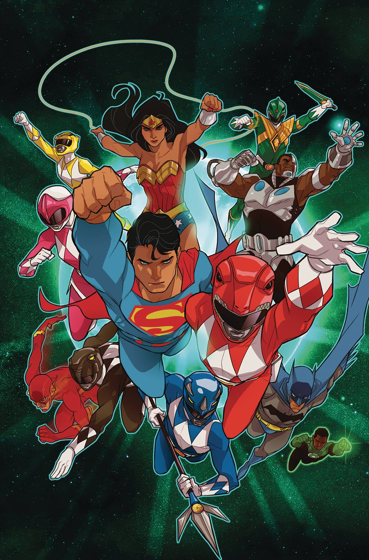 JUSTICE LEAGUE POWER RANGERS #2