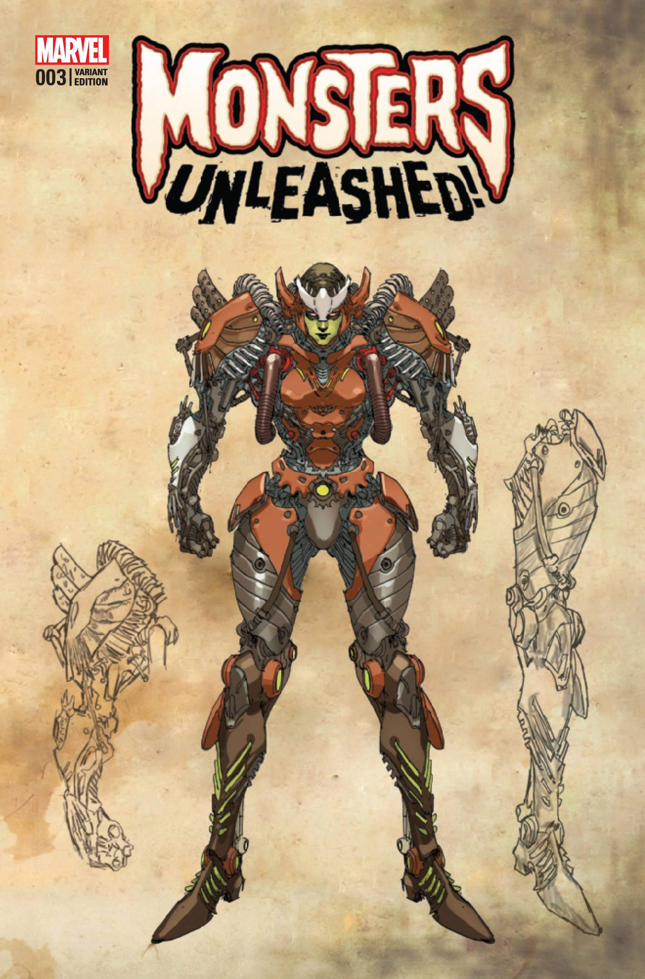MONSTERS UNLEASHED #3