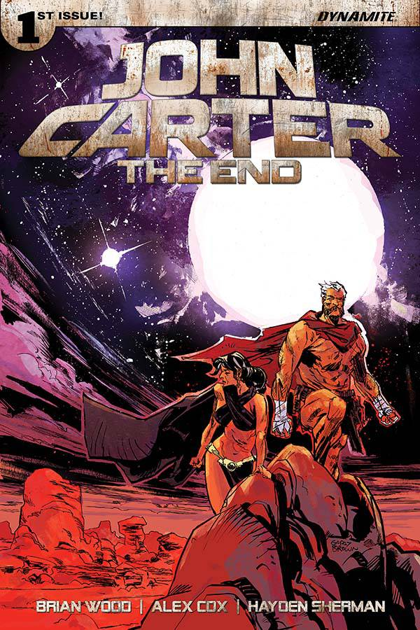 JOHN CARTER THE END #1 CVR A BROWN