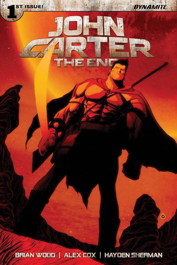 JOHN CARTER THE END #1 CVR B DOE