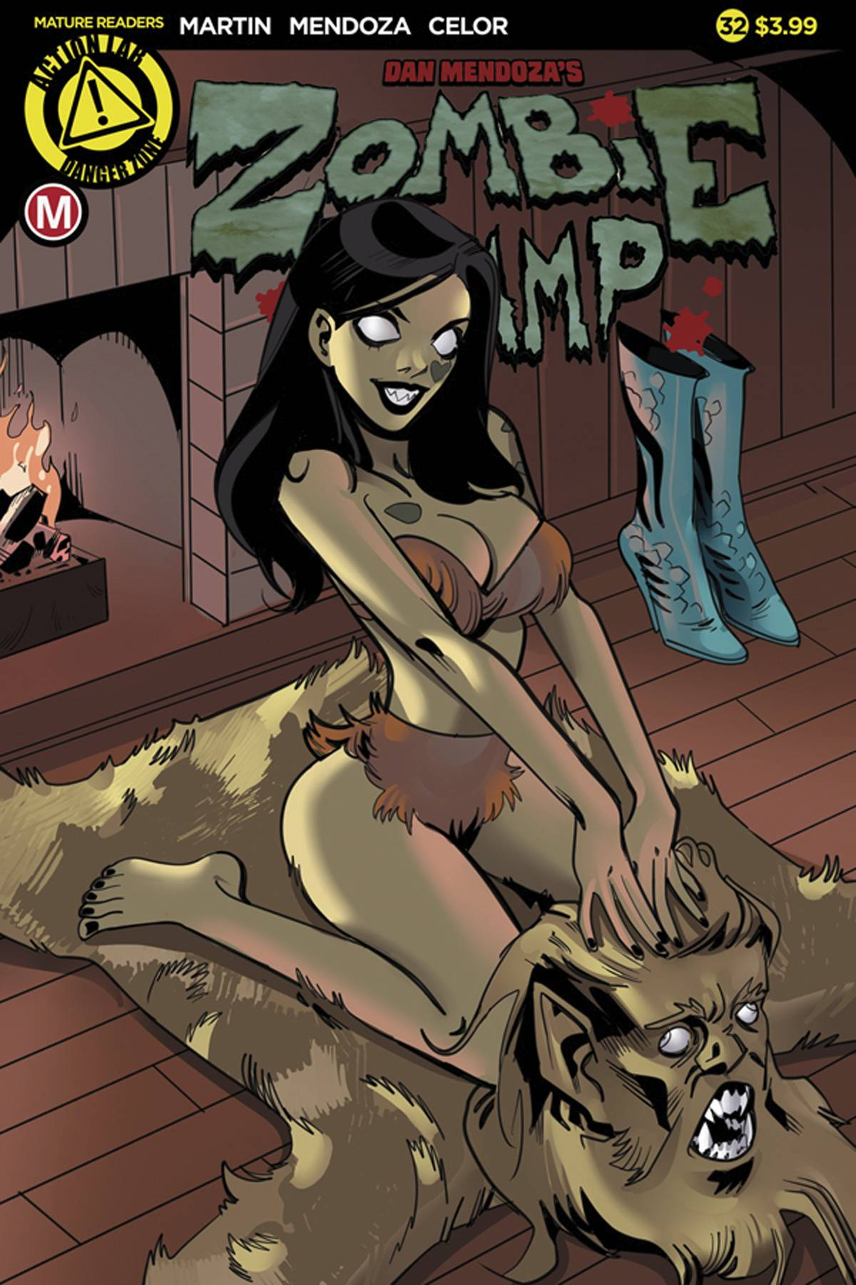 ZOMBIE TRAMP ONGOING #32 CVR A CELOR