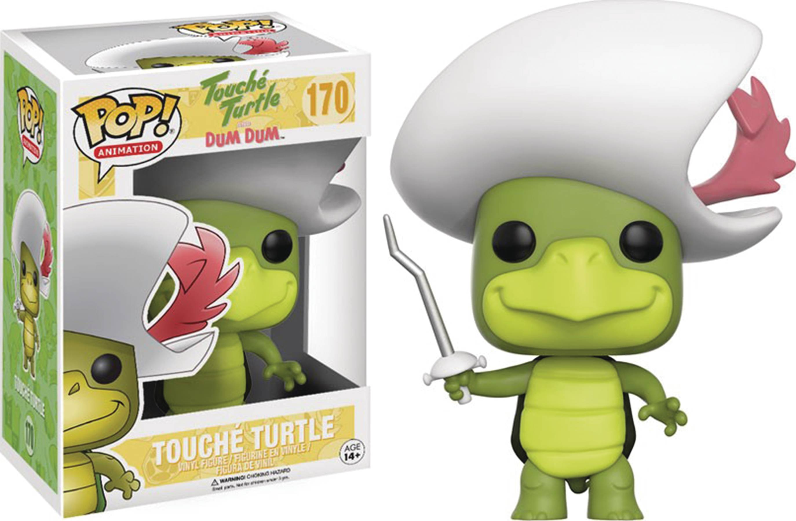 POP HANNA BARBERA TOUCHE TURTLE VINYL FIG