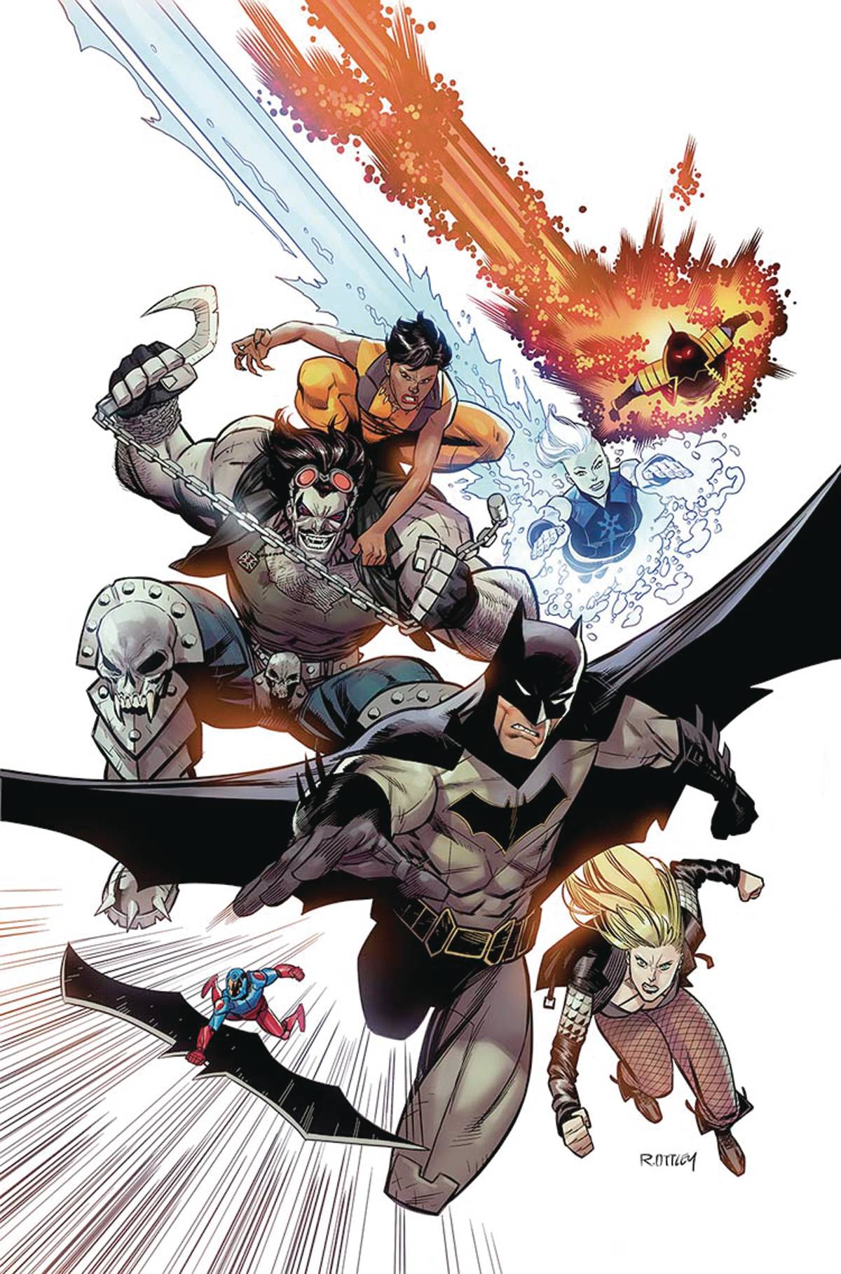 JUSTICE LEAGUE OF AMERICA REBIRTH #1 VAR ED