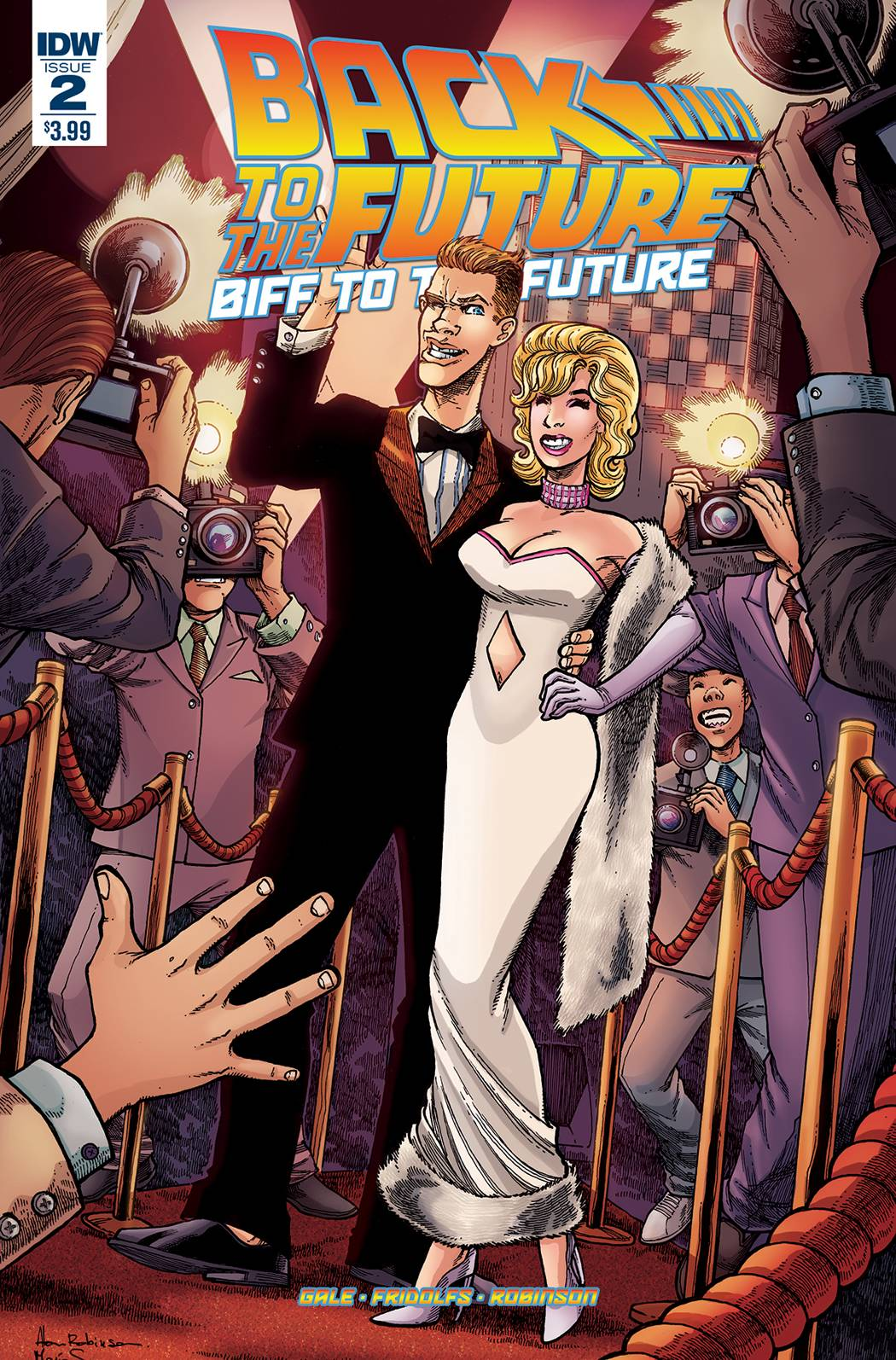 BACK TO THE FUTURE BIFF TO THE FUTURE #2